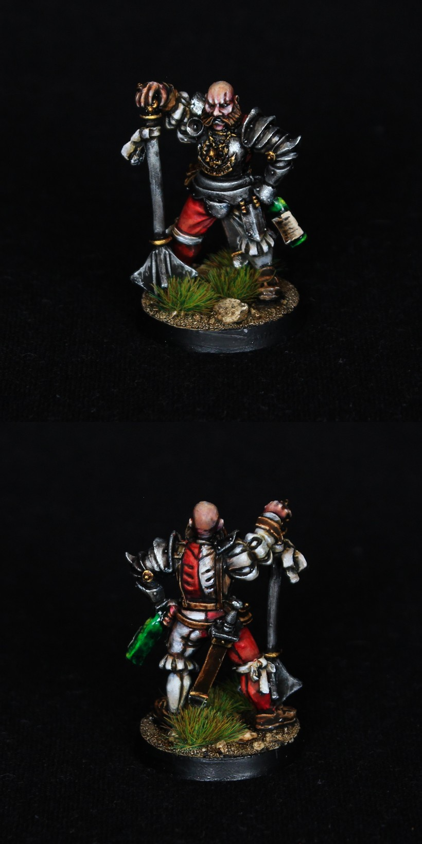 Freeguild General / Empire Captain with bottle