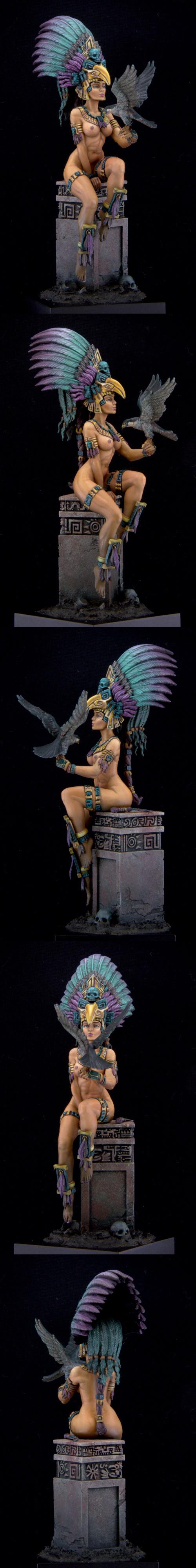Aztec Priestess 75mm by First Legion