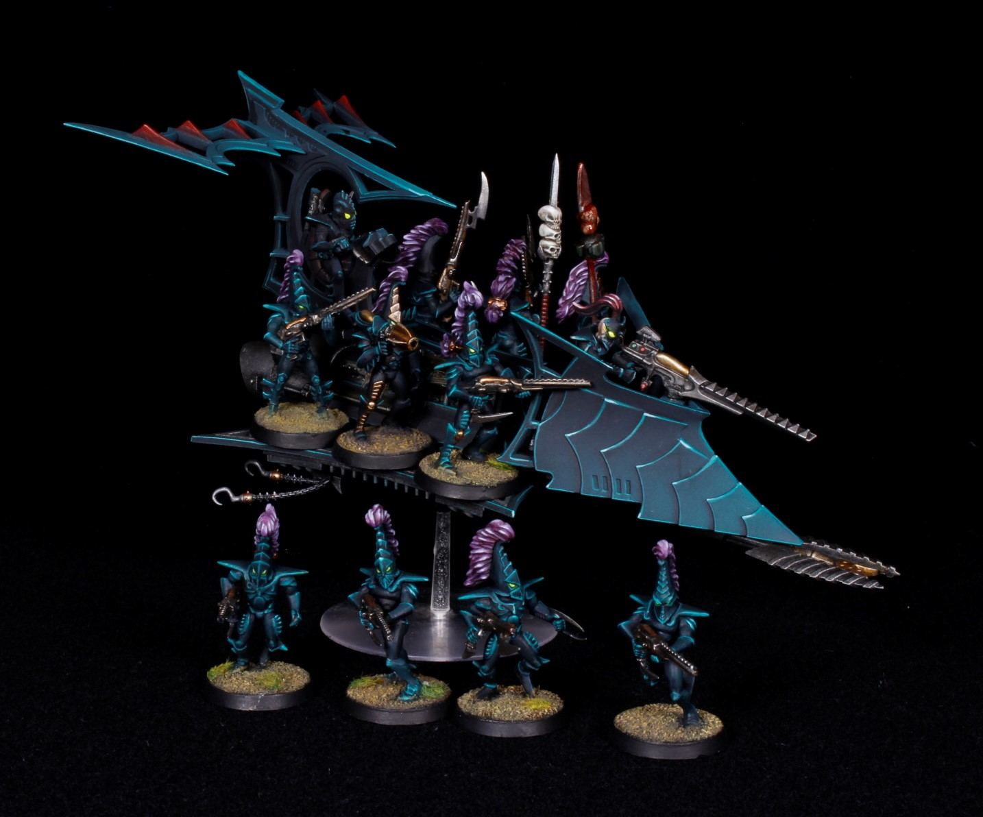 magnetized drukhari raider and warriors