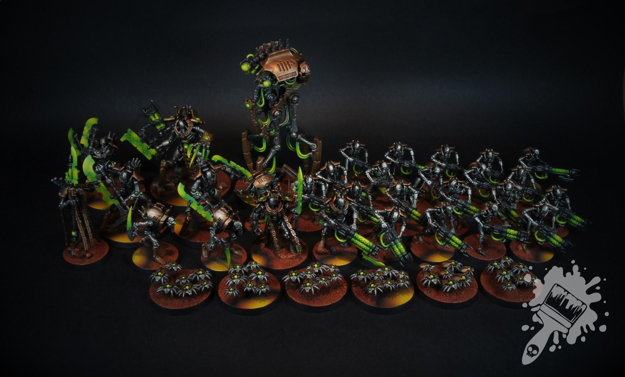 Warhammer 40k Necron Indomitus Army