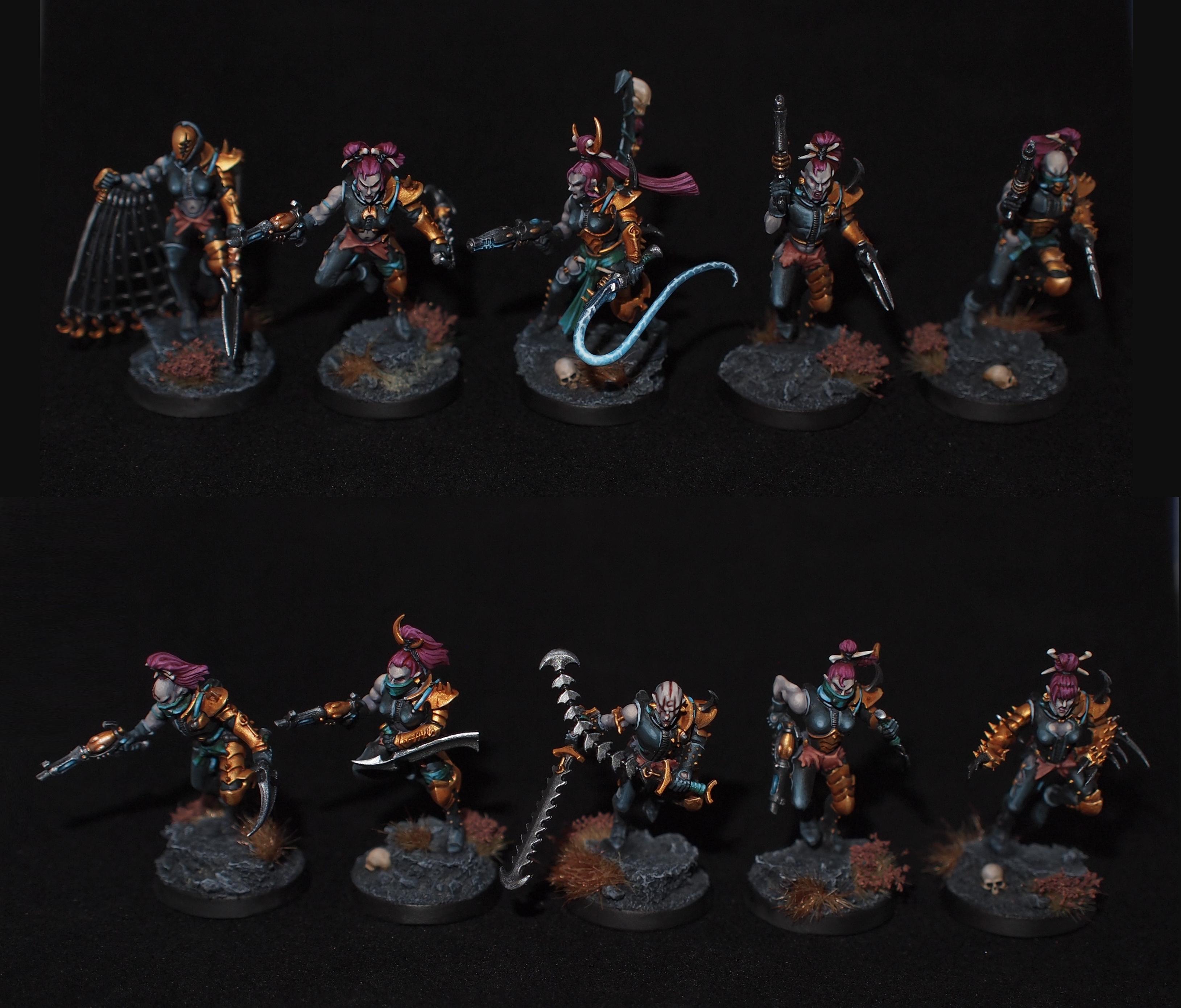 Dark Eldar Wyches Drukhari Wych Cults