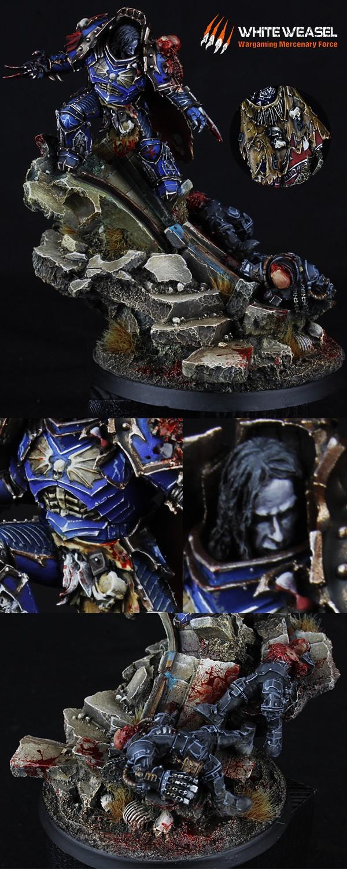 Konrad Curze Primarch of the Night Lords