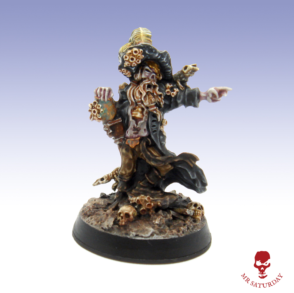 Undead Pirate Captain - Ephram Wither