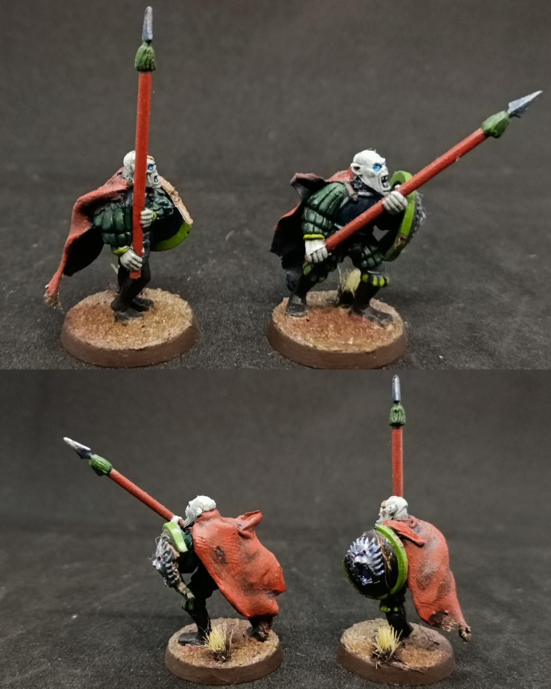 Necrófagos lanceros / Spear ghouls