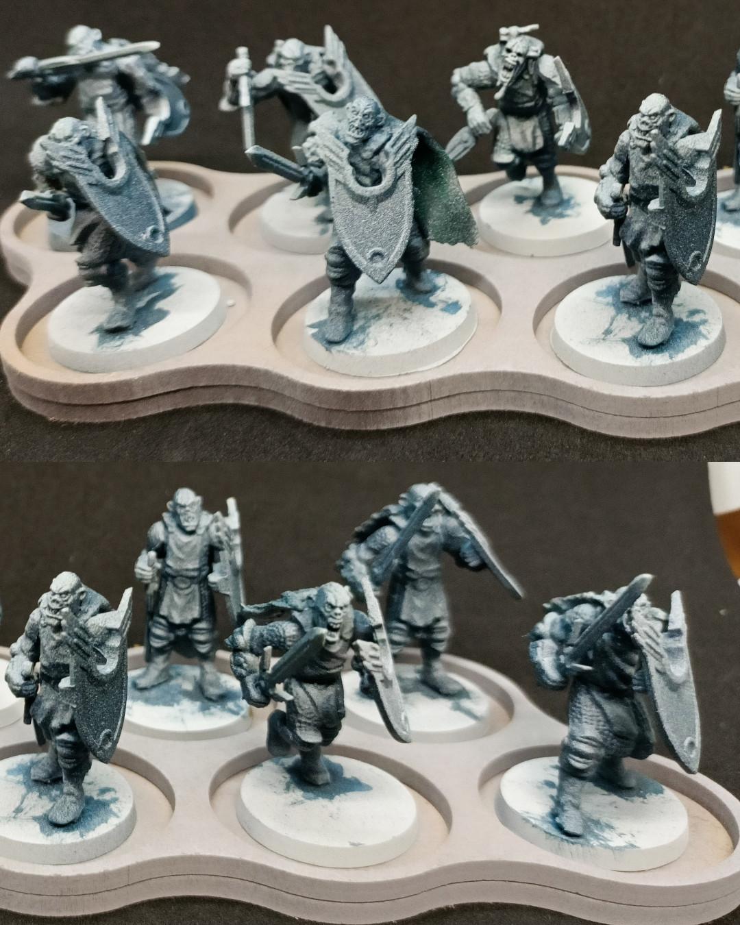 hombres de armas Necrófagos / Ghoul men at arms