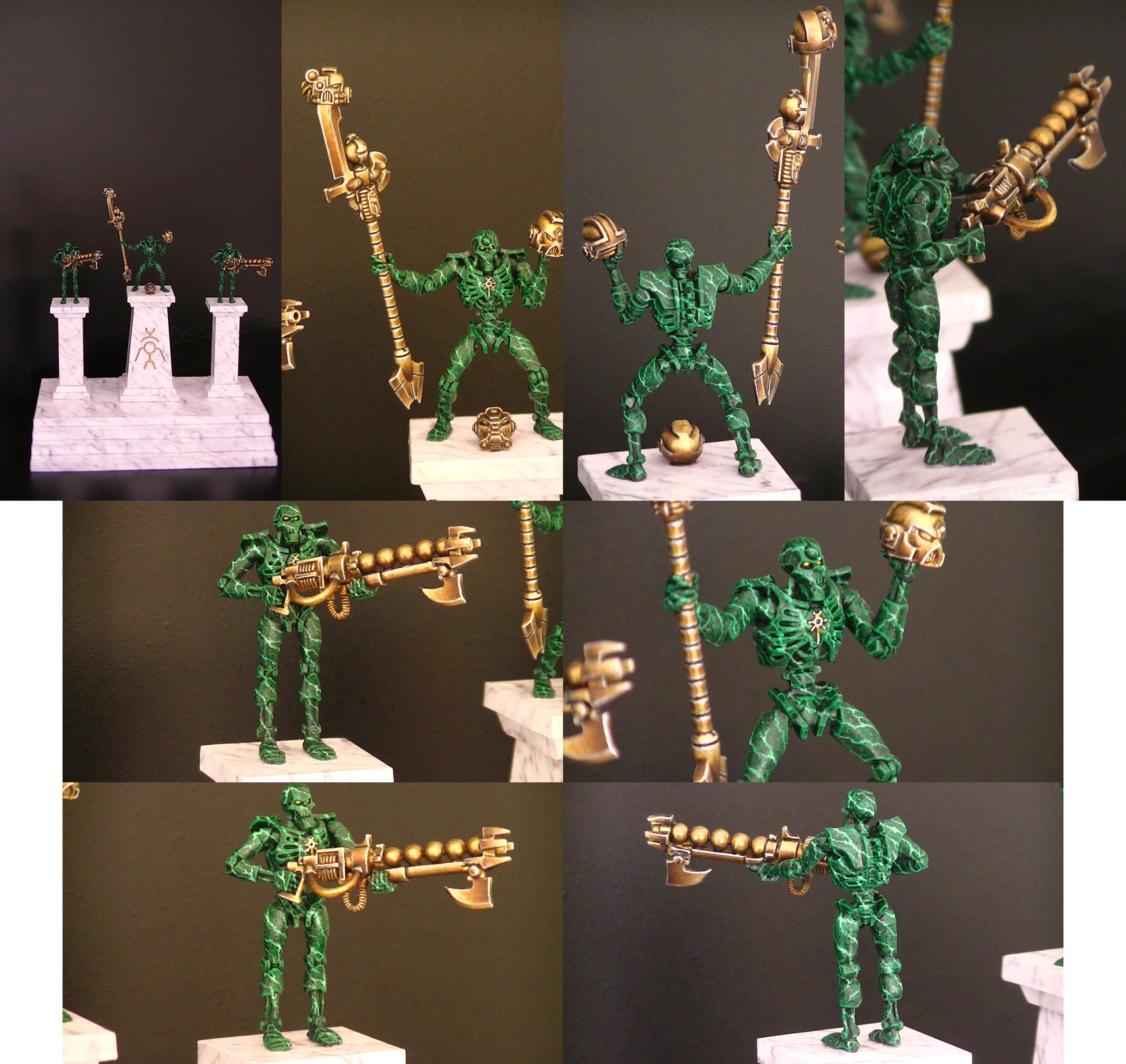 Necron Warriors (green marble)