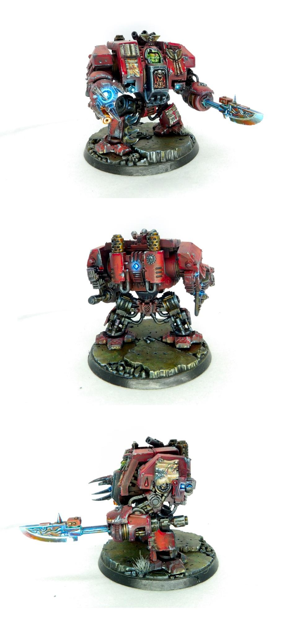 Bloodangels librarian on dreadnought
