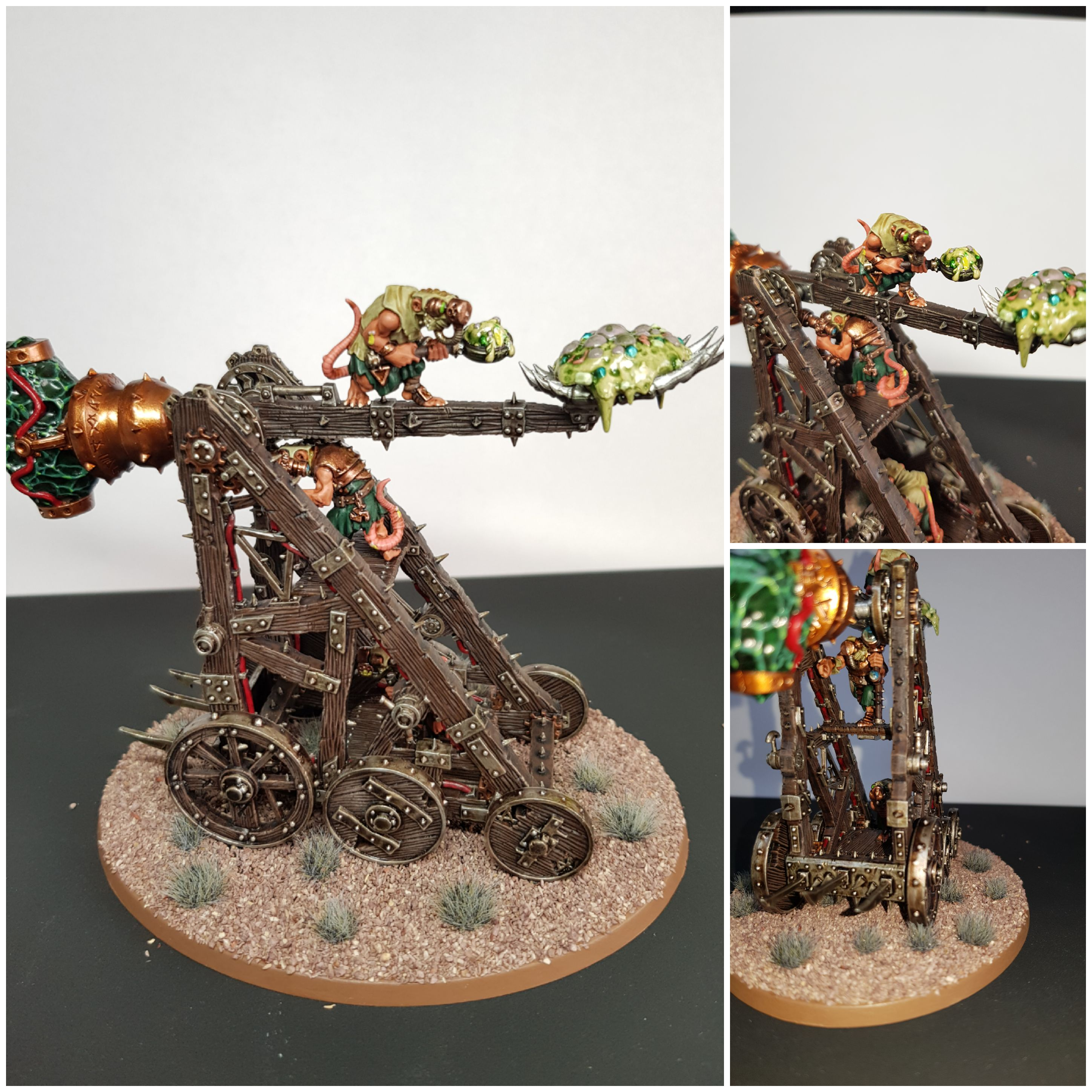Plague Claw Collage