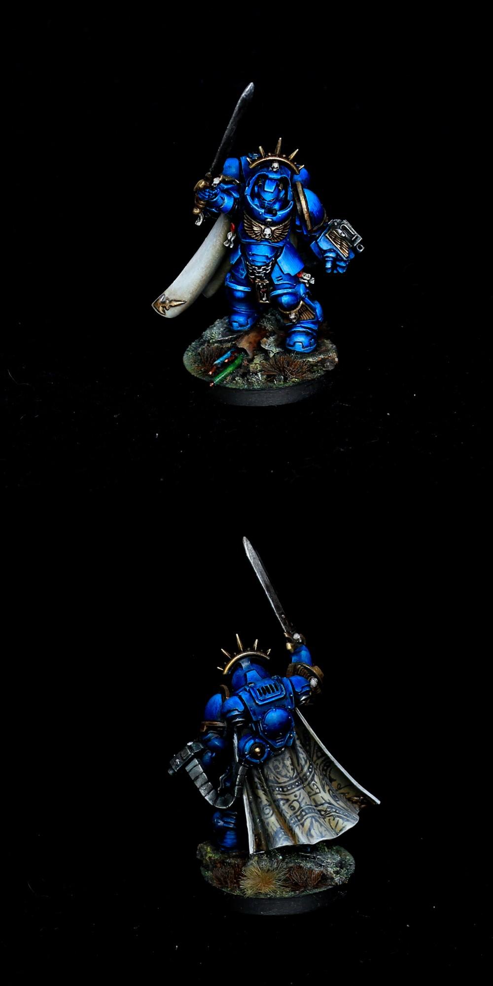Primaris Captain in terminator armor / Dark Imperium