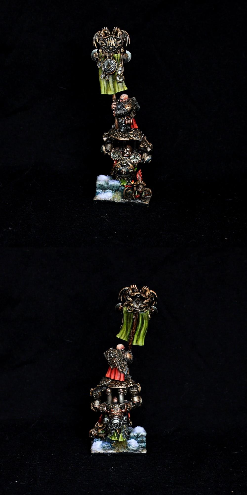 Dwarf Battle Standard  Warhammer