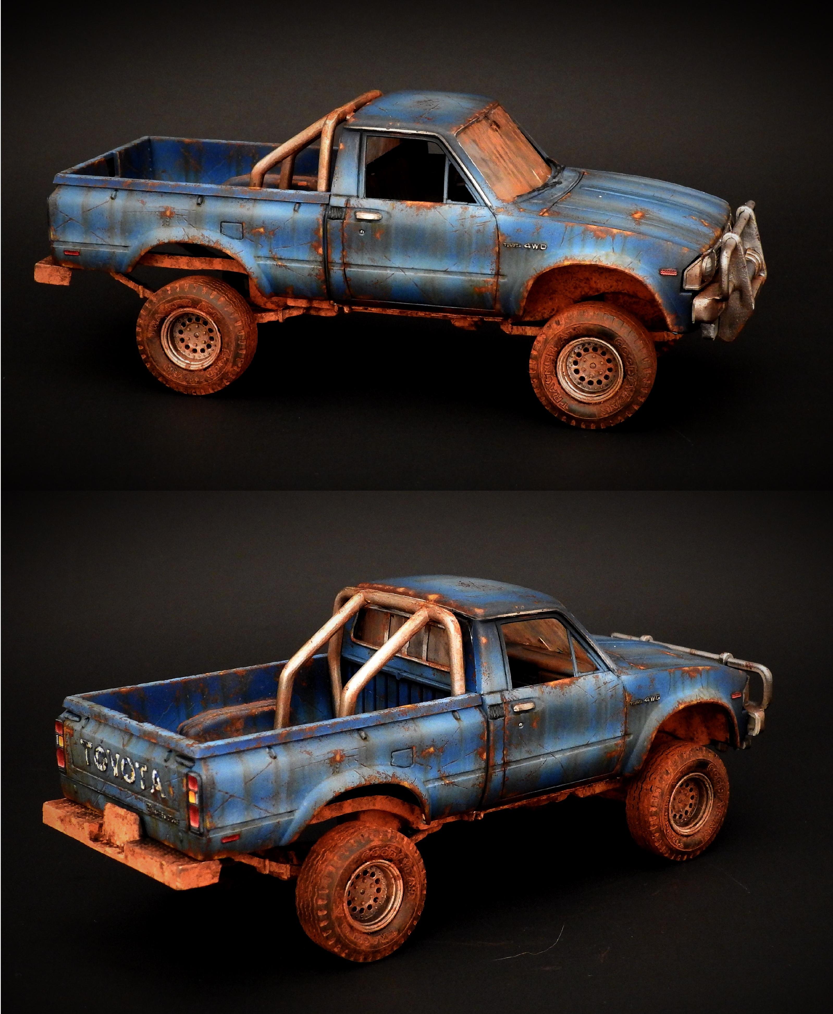 1984 Post Apocalyptic 4x4 Toyota Truck