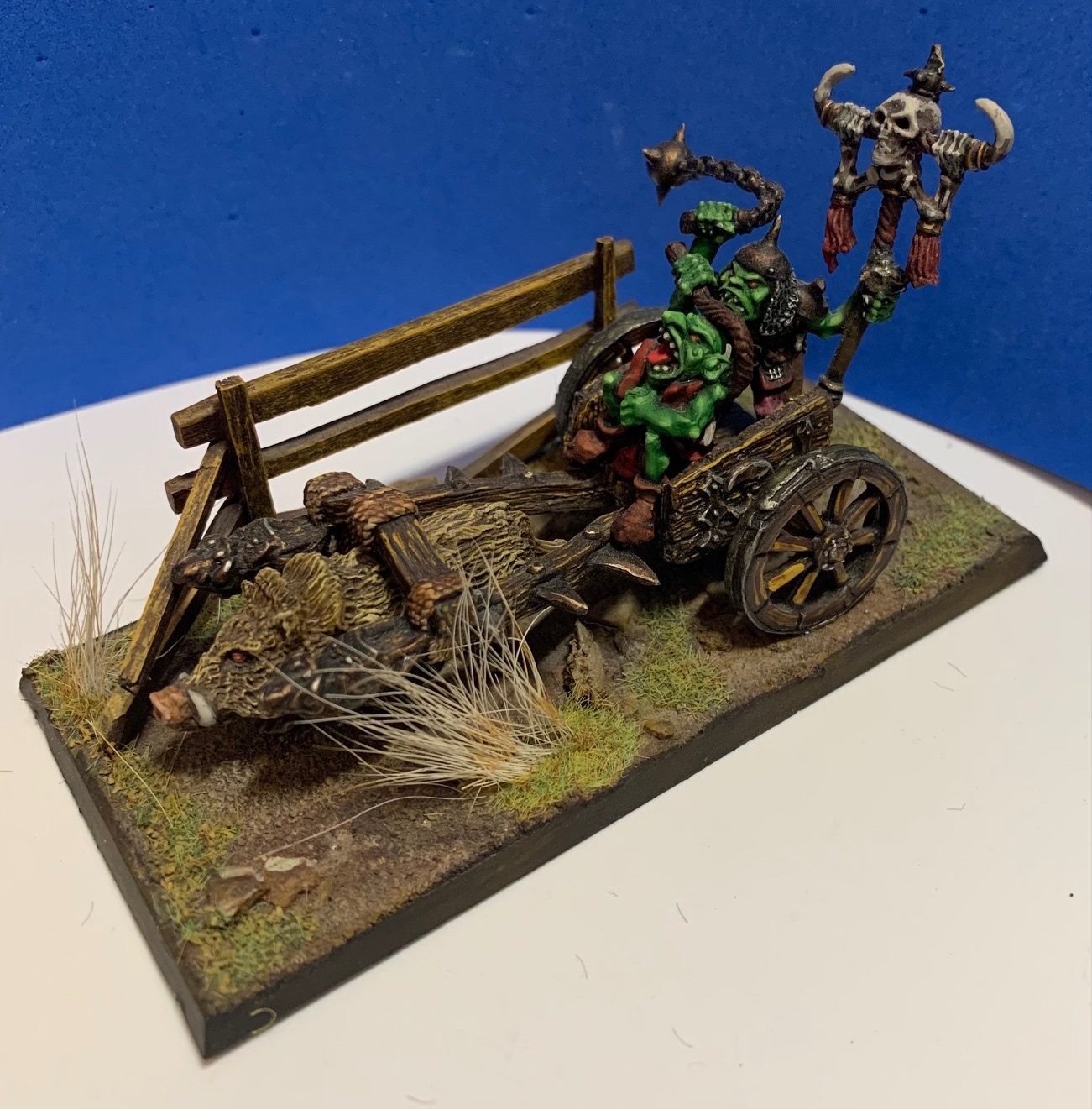 SOURGUT - Goblin King on Chariot