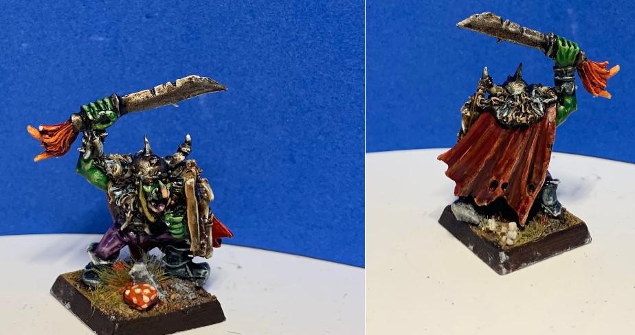 RAGNUK, Goblin Chieftan of the Red Skulls