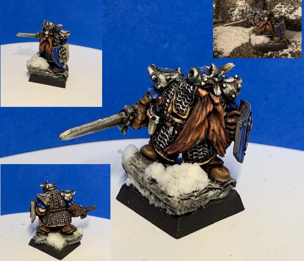 KARAL STONEFIST, Dwarf Lord