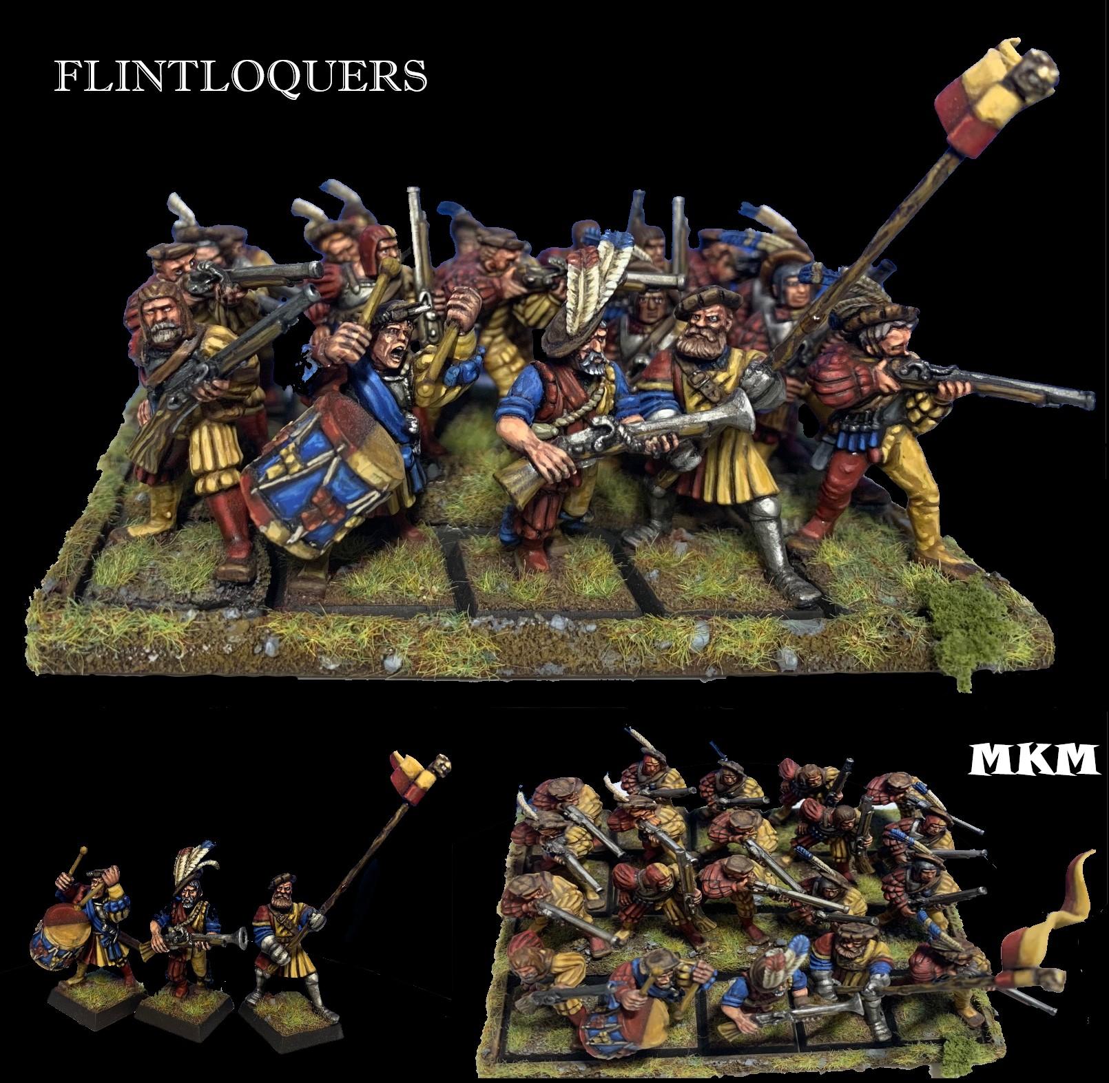 THE BOLD FLINTLOQUERS, 20 Empire Handgunners