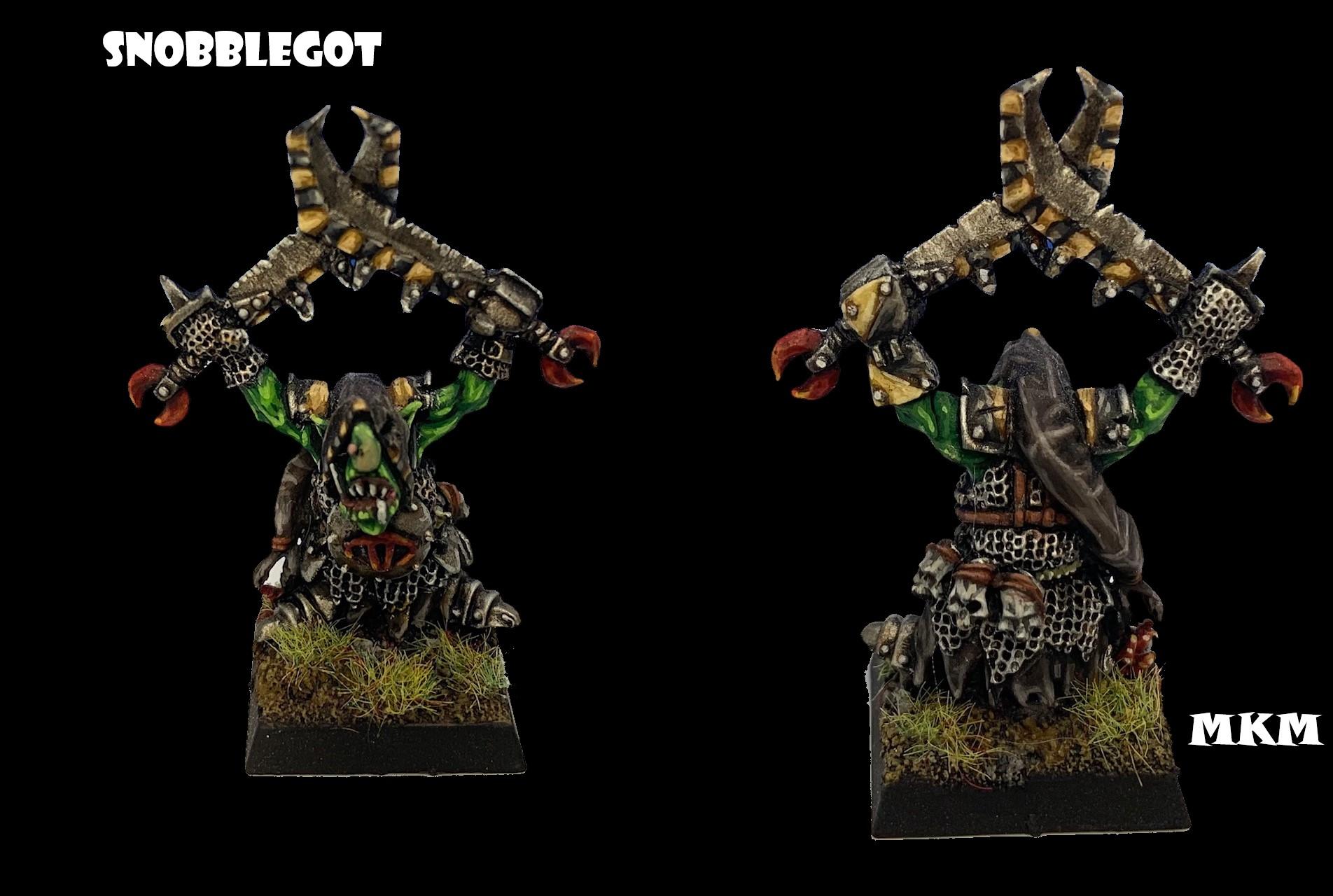 SNOBBLEGOT, Night Goblin Chief