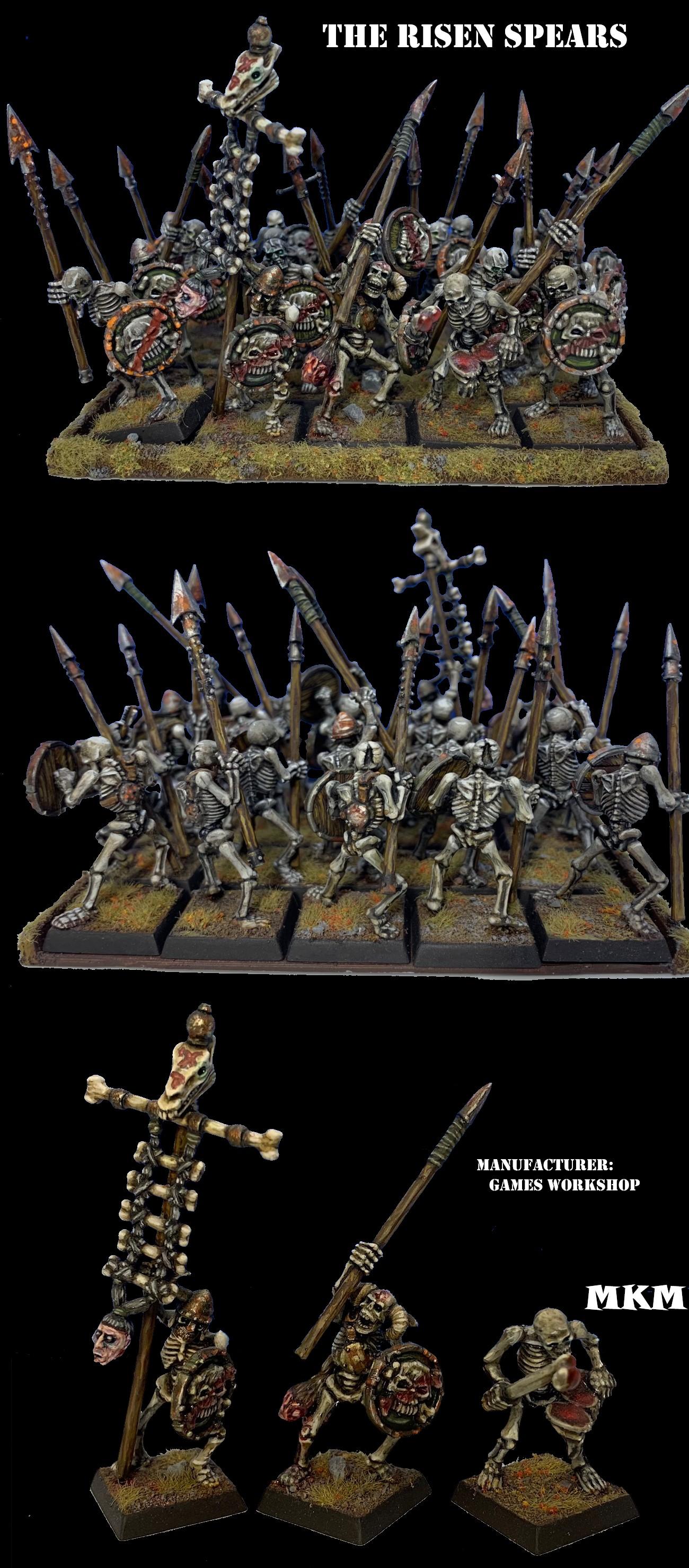 THE RISEN SPEARS - Skeletal Spearmen