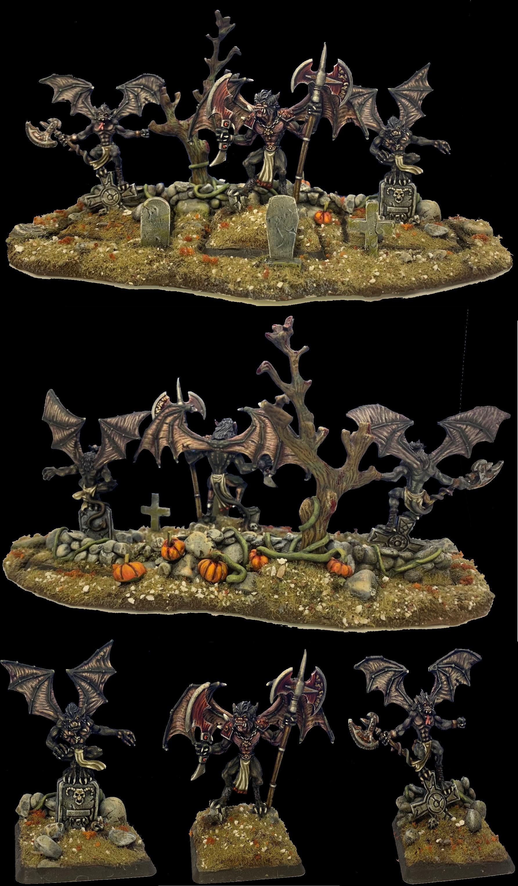 CRYPT BATS - Vargheists