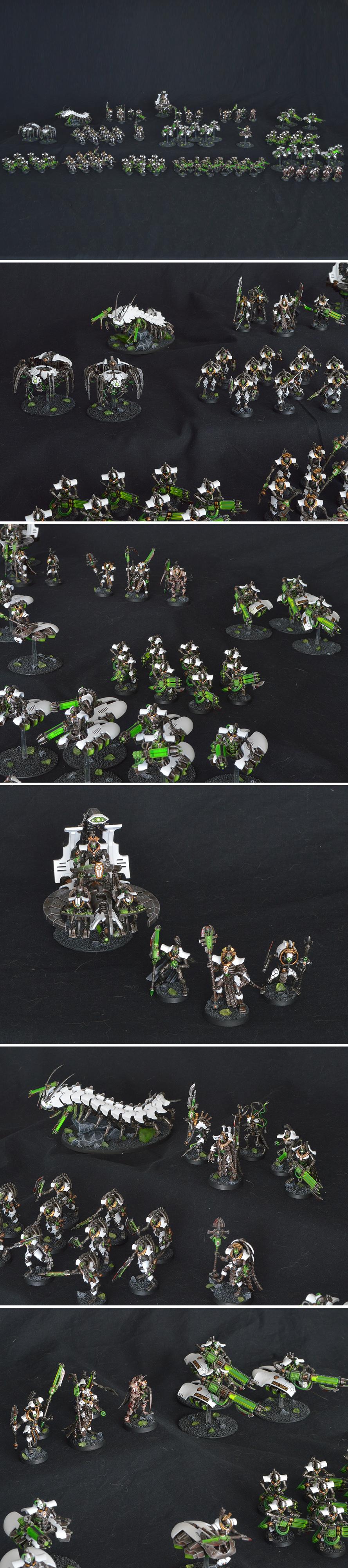 Necron Menotekh army wave 3 (2021)