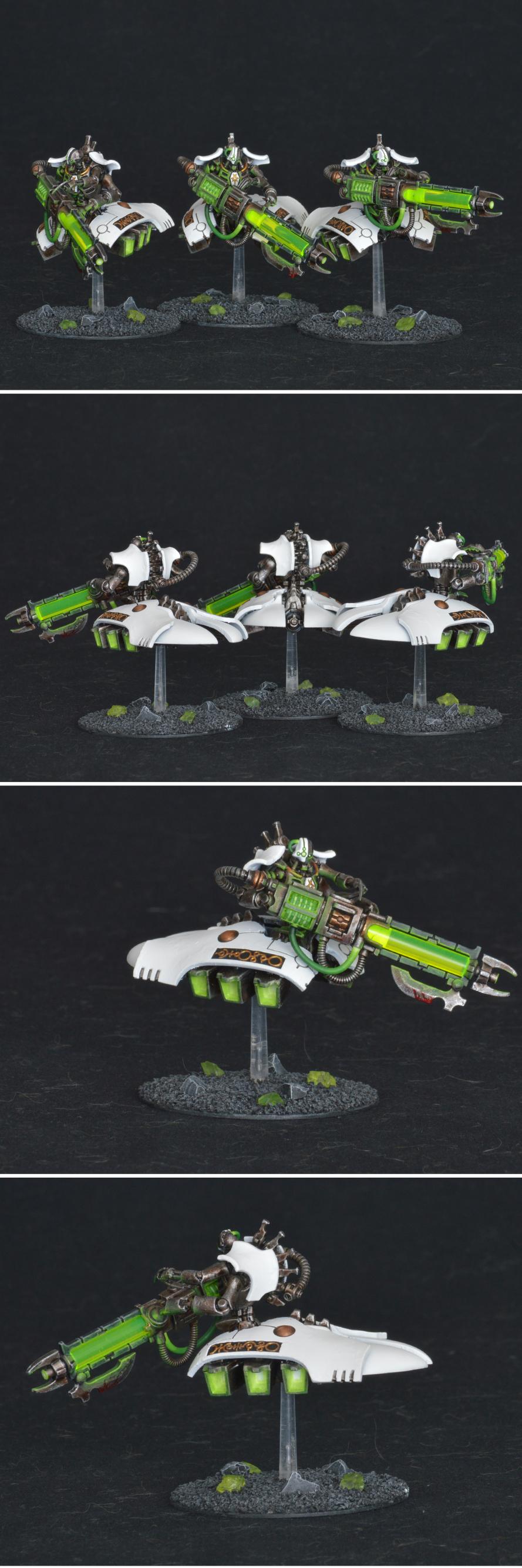 Necron heavy destroyers