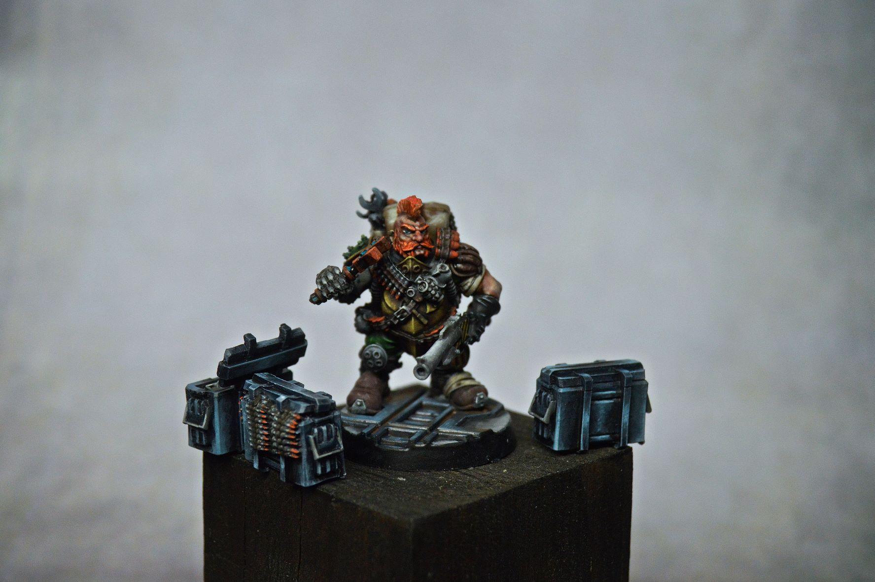 Ragnir Gunnstein, Squat Ammo-jack