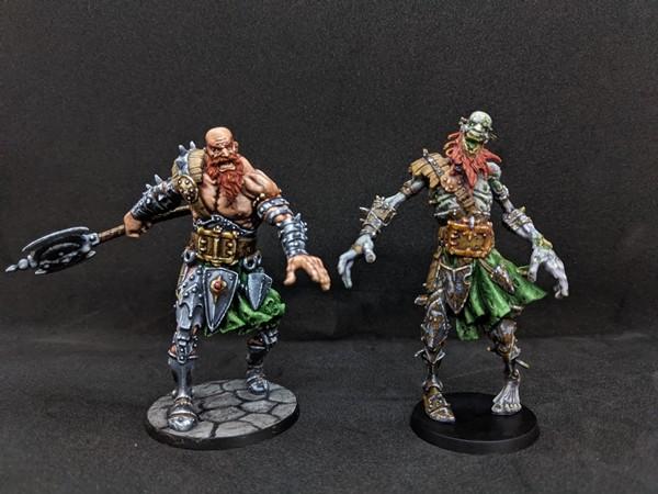 Finarton & the Undead Giant Abomination