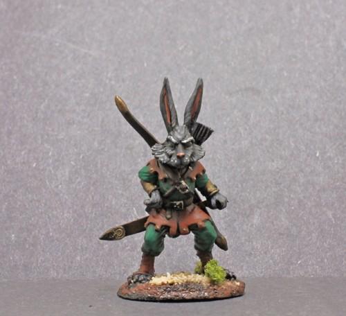 Dark Sword Rabbit Warrior