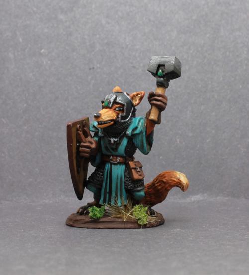 Dark Sword Fox Cleric