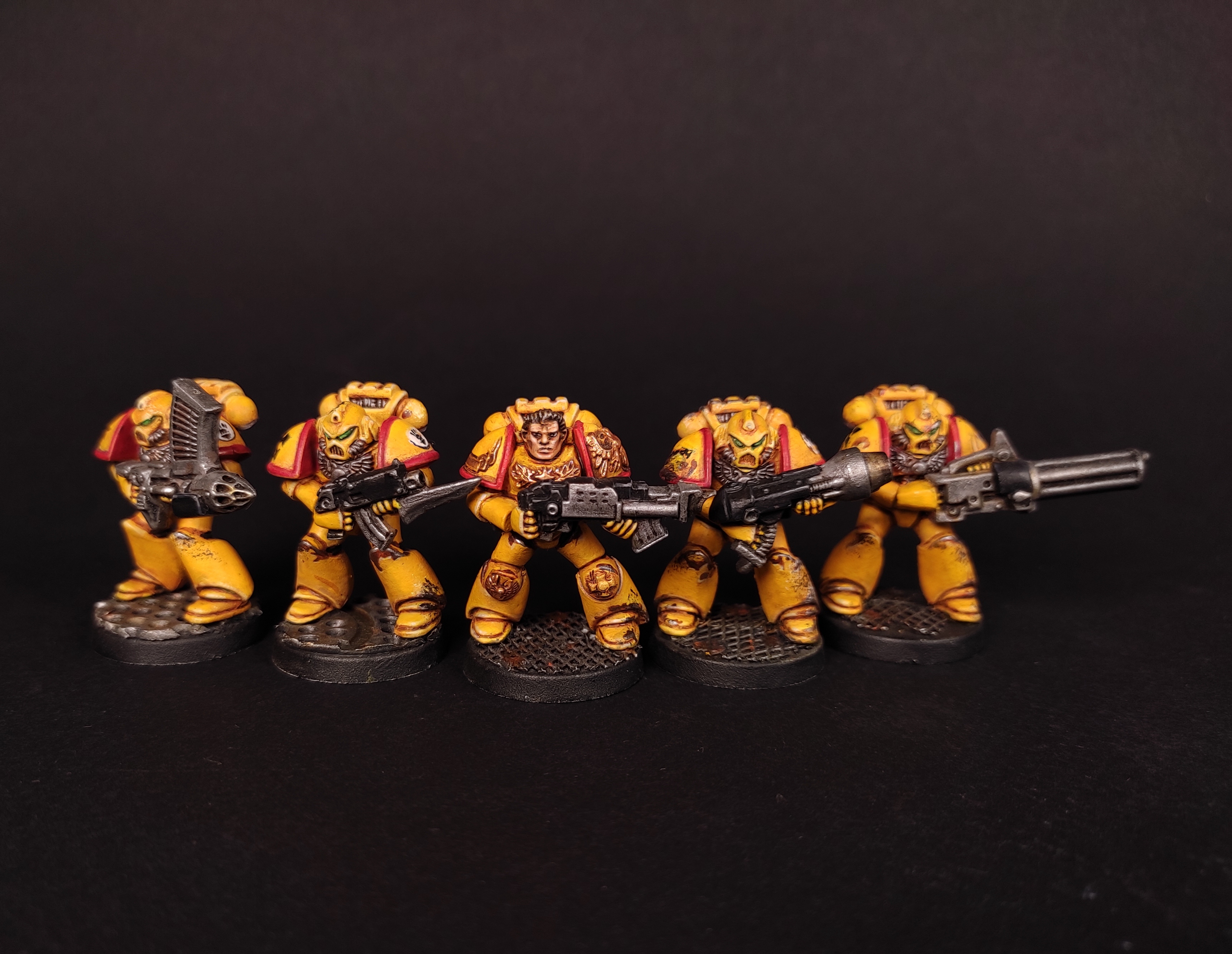 imperial fist space marines. Space crusade
