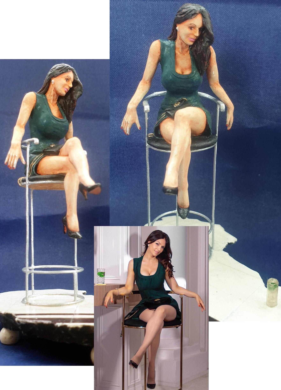 Denise Milani Green Instagram Dress