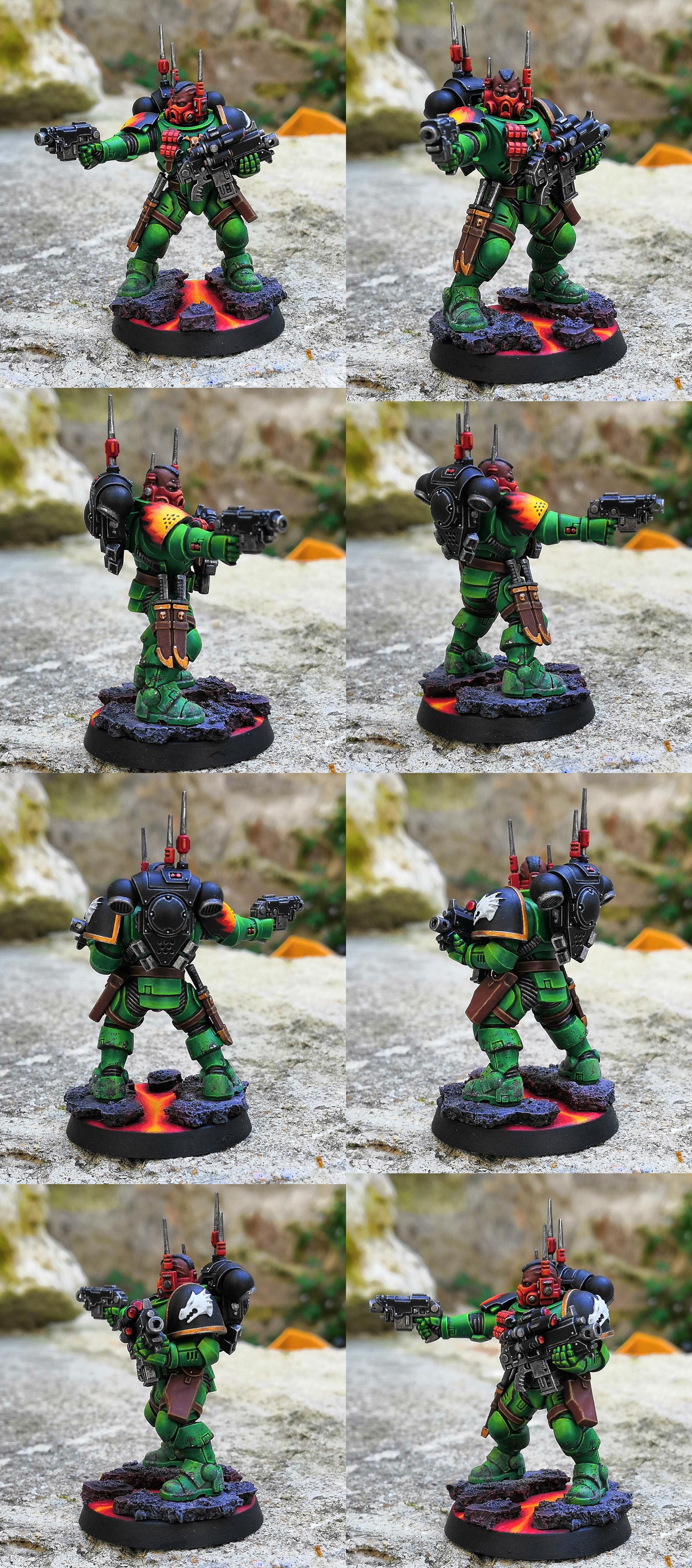 Infiltrator Sergeant Salamander Primaris