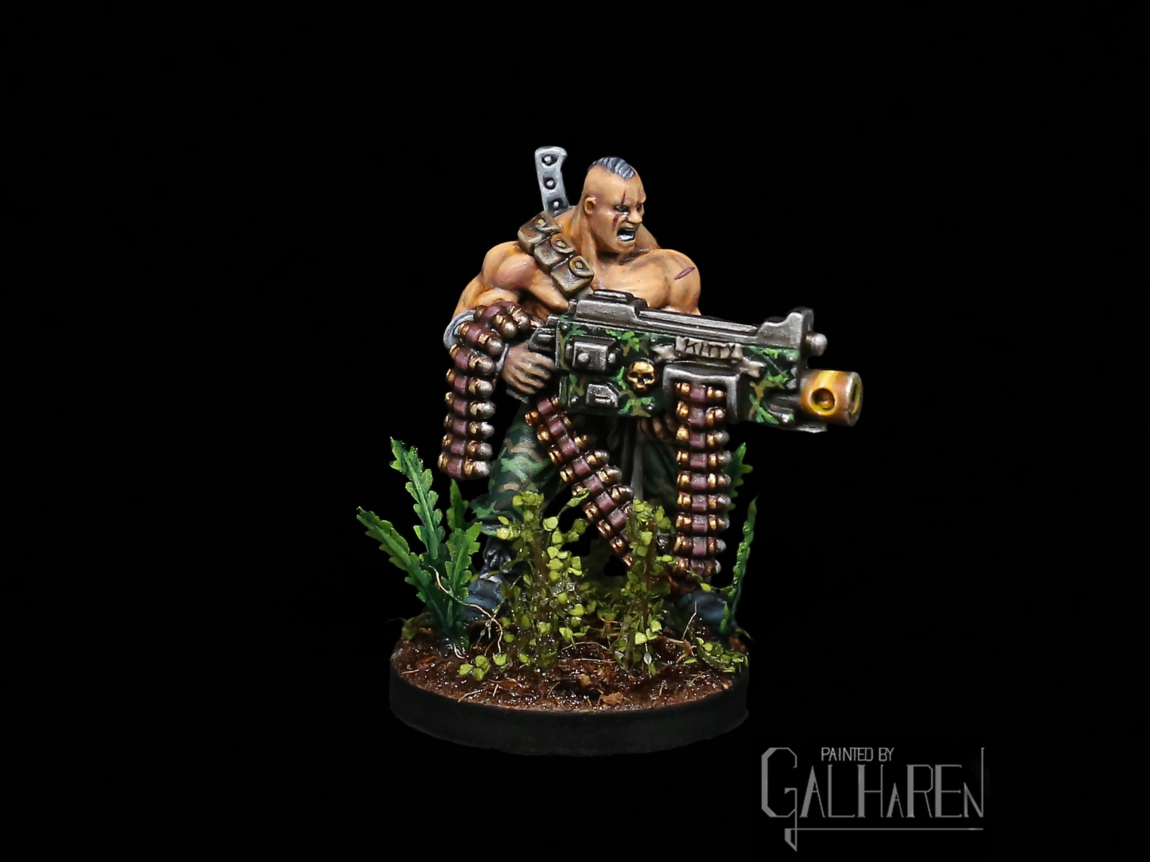 Sergeant Harker, Catachan Kill Team