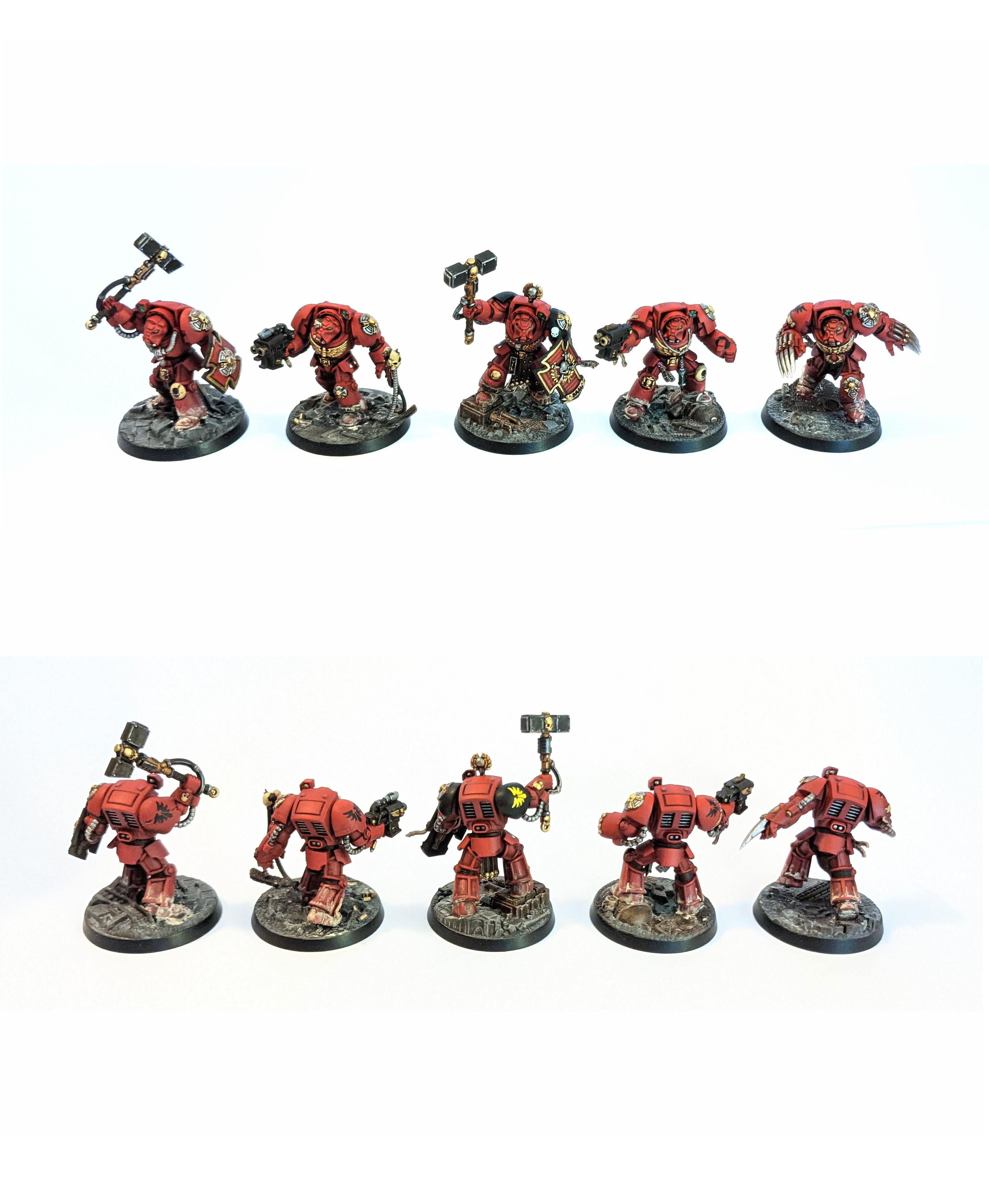 Blood Angels Terminators - Space Marine Heroes Series 2