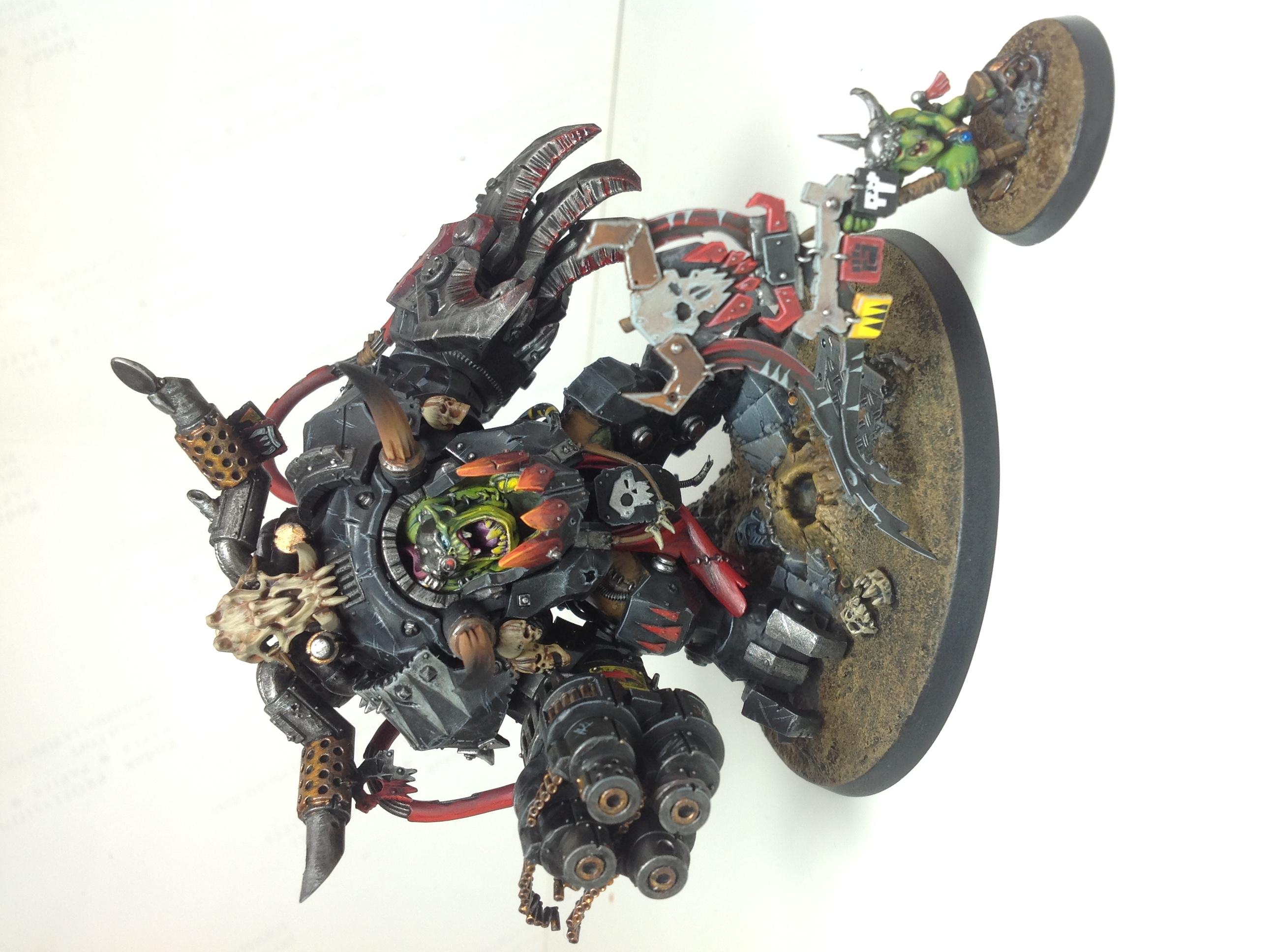Ghazghkull Thraka & Makari Warhammer 40k