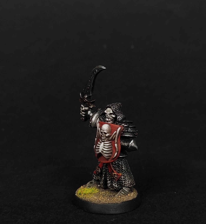 Undead deathrattle skeleton champion