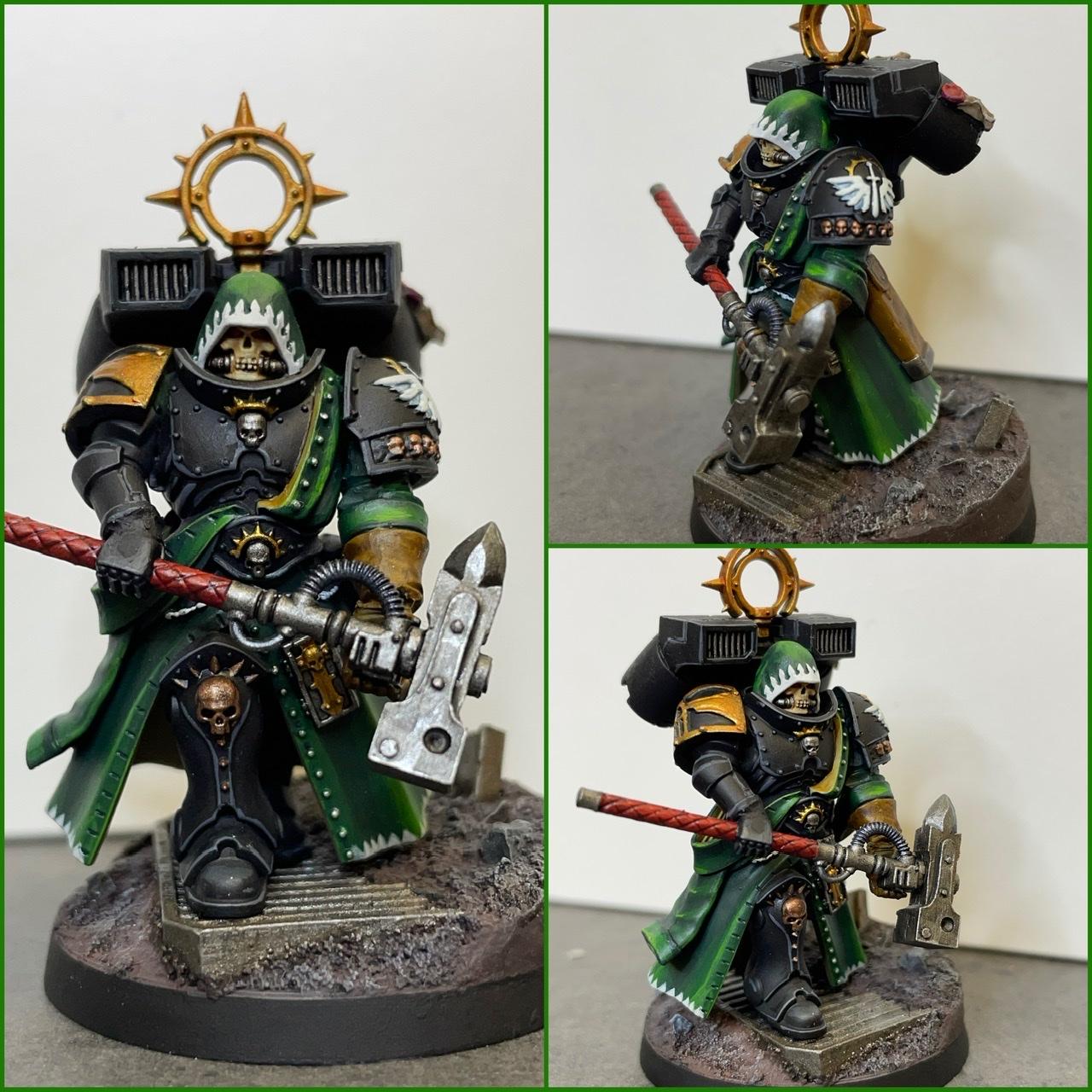 Dark Angels Interrogator Chaplain with Jumppack