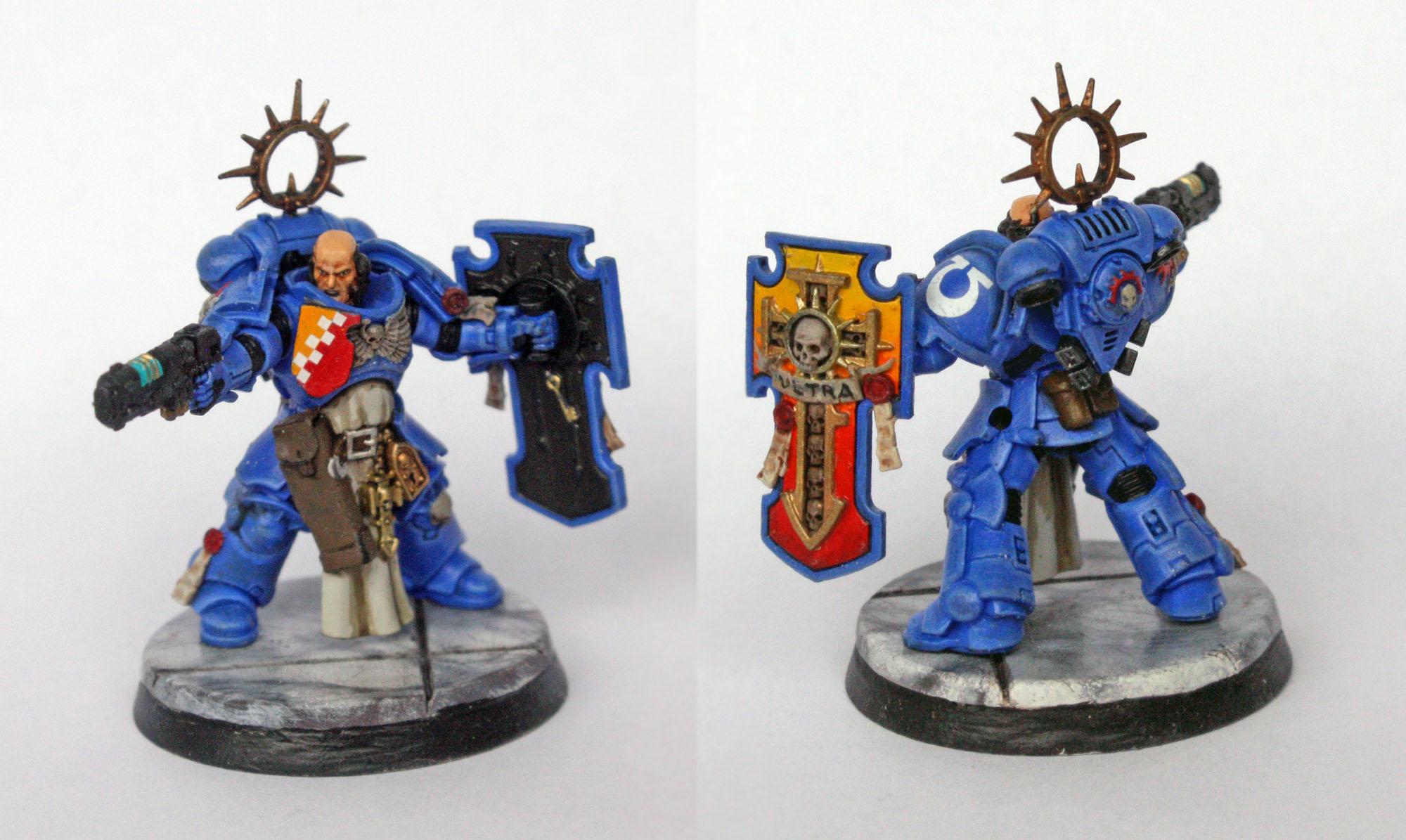 Ultramarine Primaris Lieutenant (Imperium version)