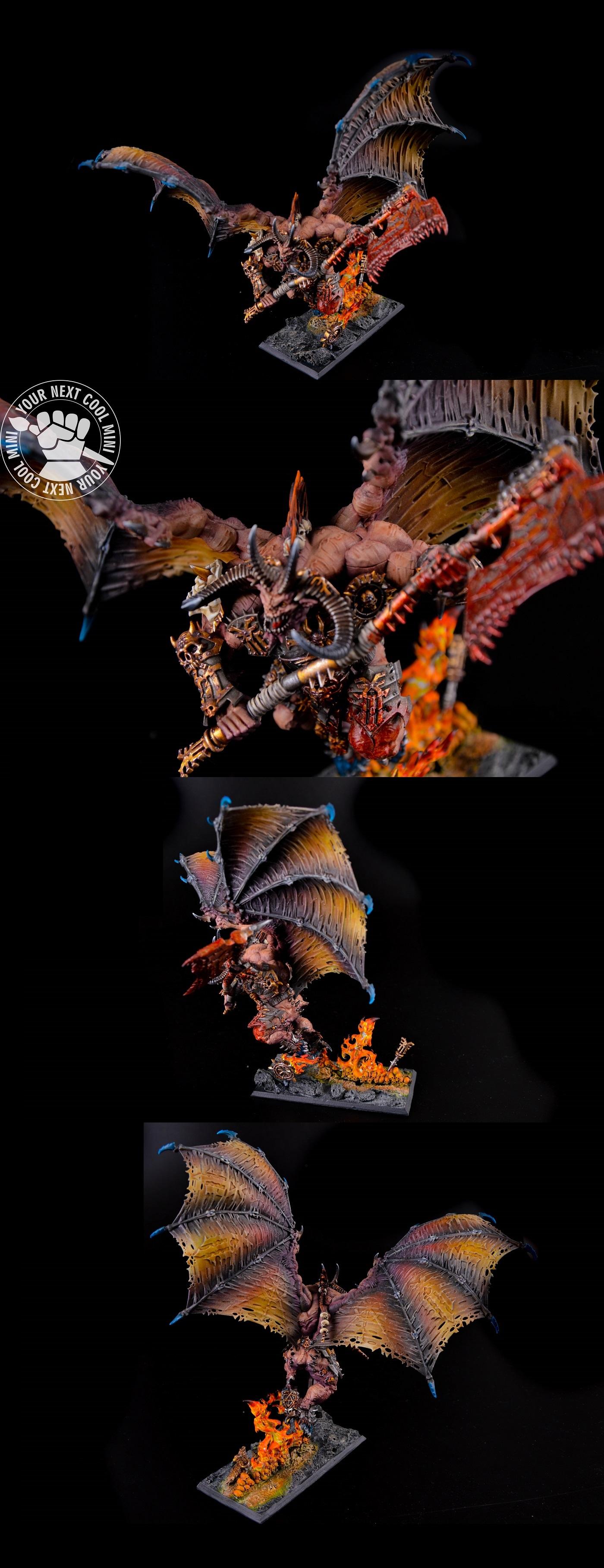 Warhammer AoS Daemons Of Khorne Bloodthirster