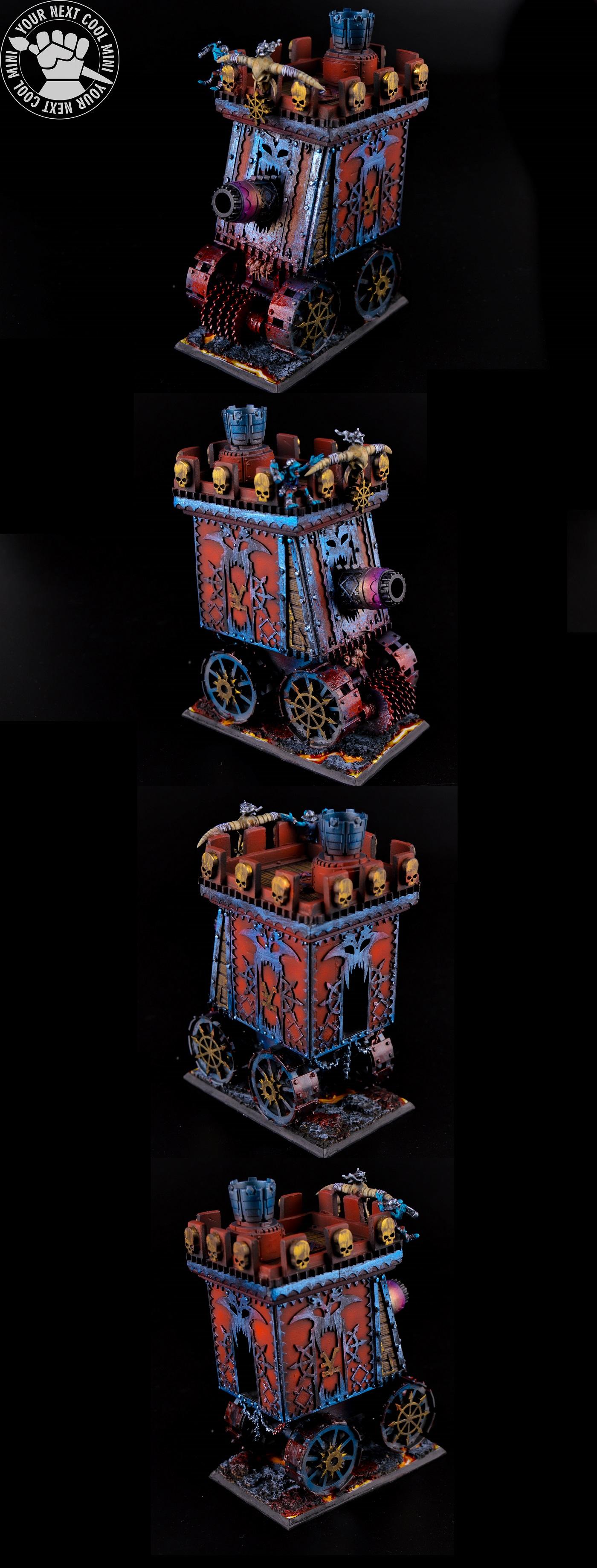 Warhammer FB/T9A/AoS Infernal Bastion