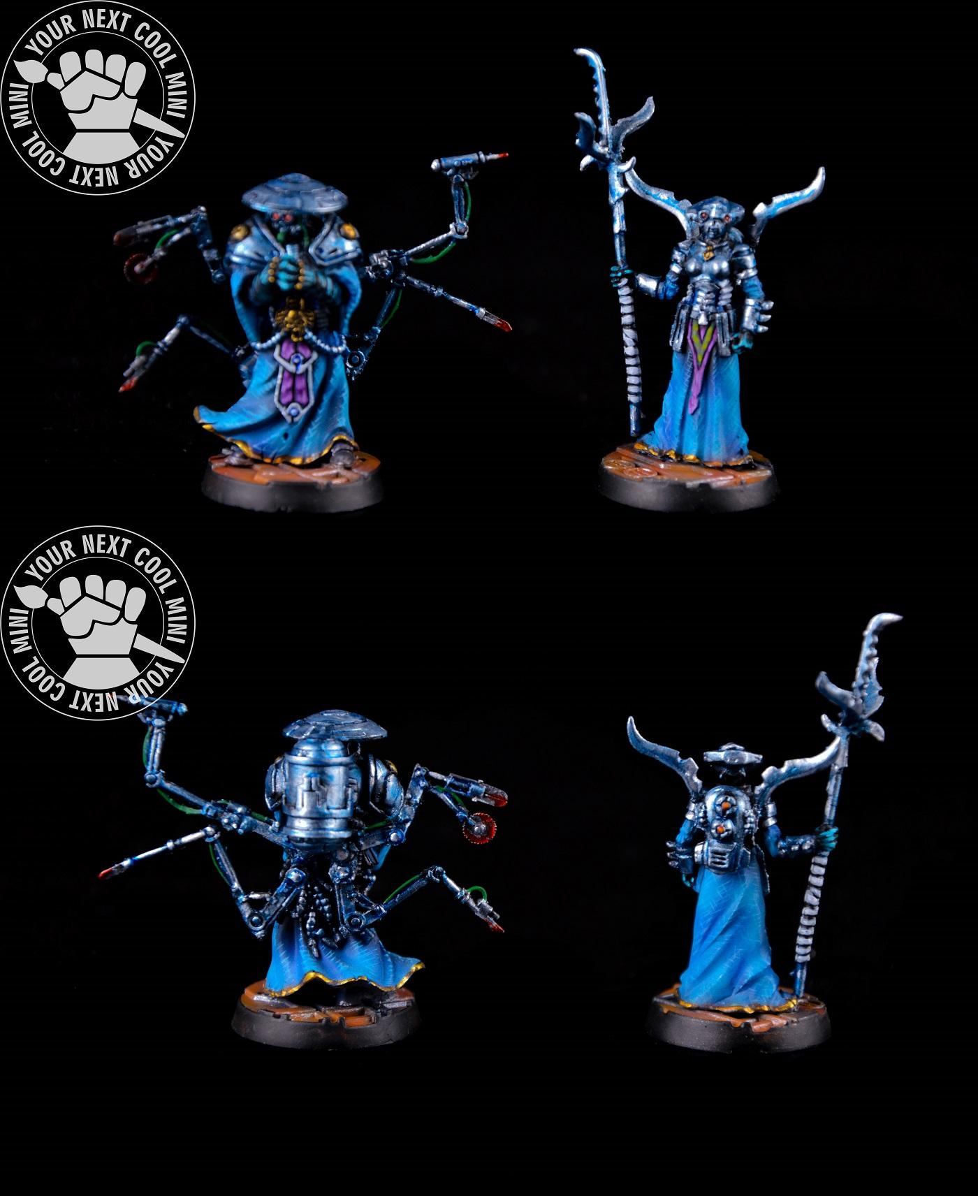 Warhammer 40k, necromunda, Master Nautican and Syphonite