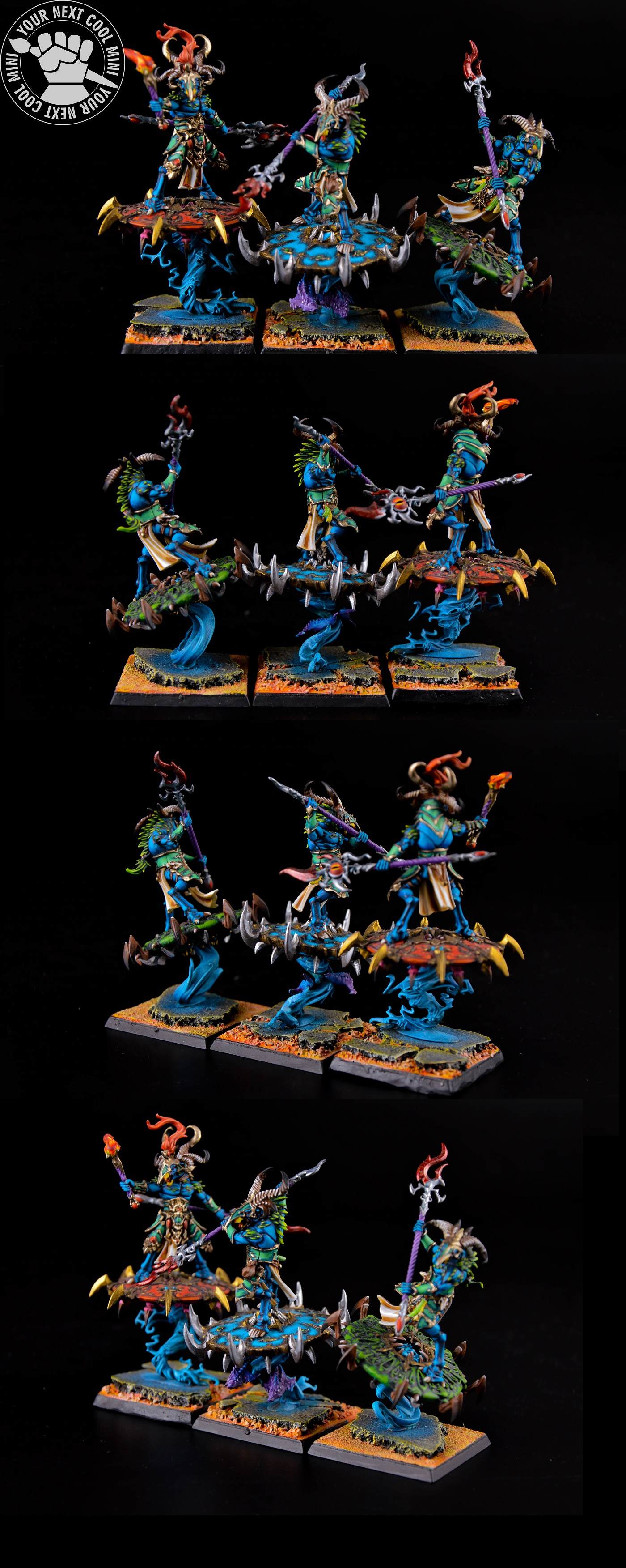 Warhammer AoS/FB Tzaangor Enlightened