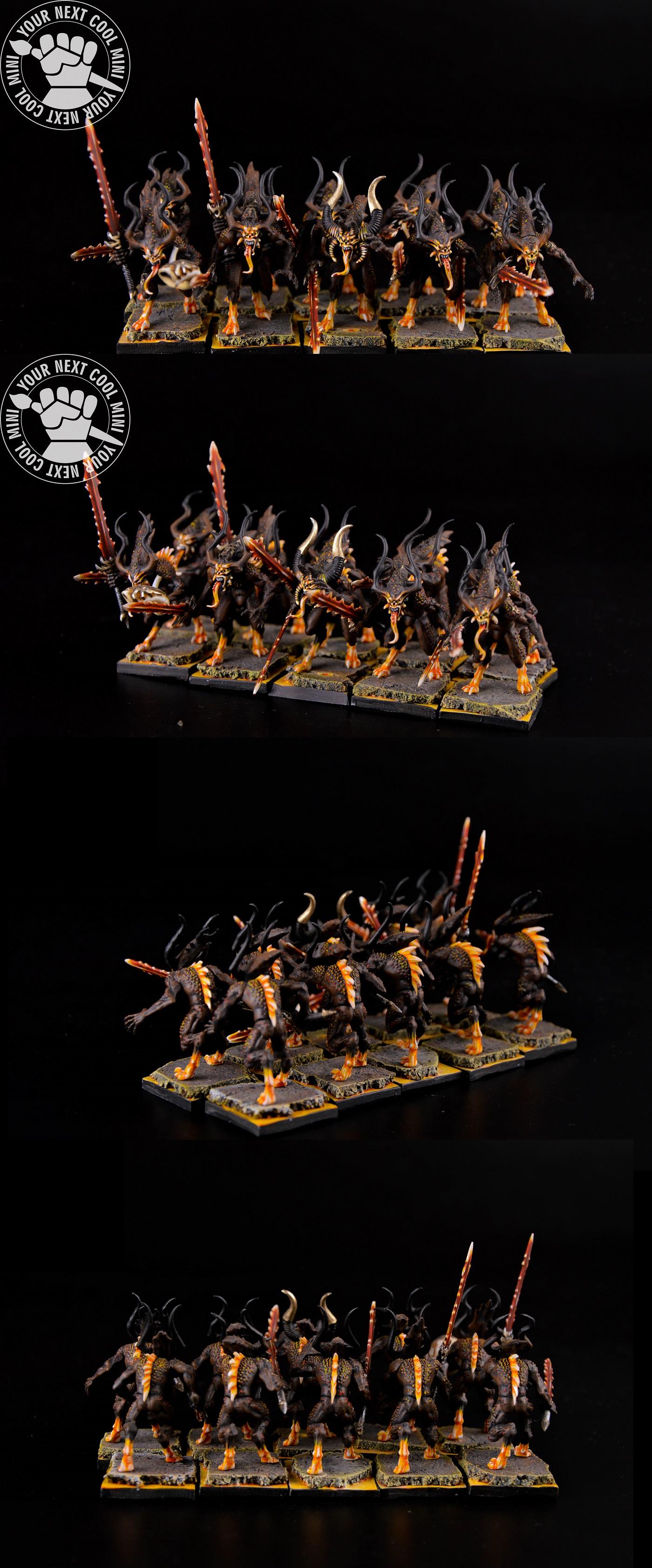 Warhammer AoS/FB Daemons Of Khorne Bloodletters