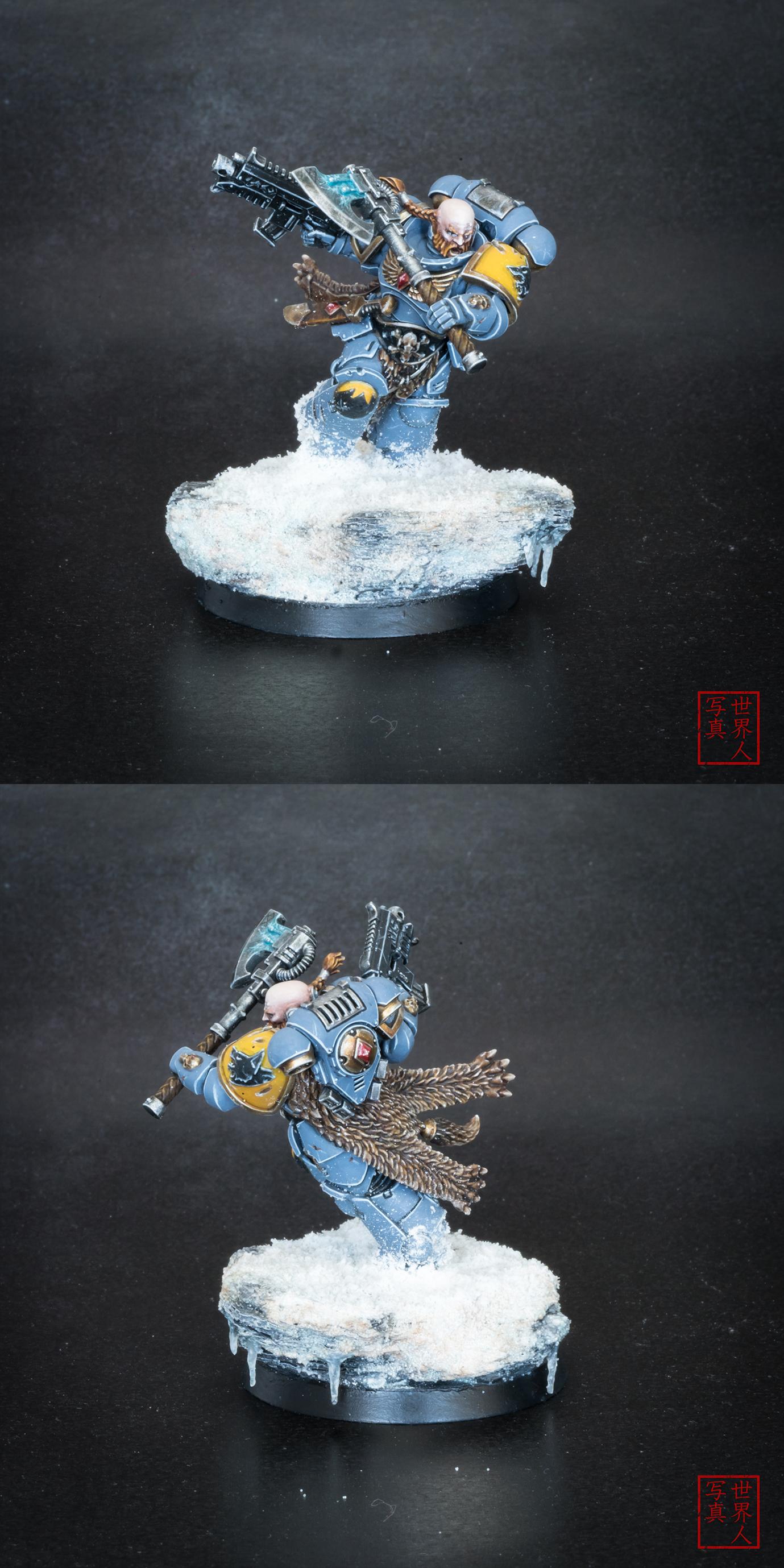 Haldor Icepelt: Space Wolf Battle Leader