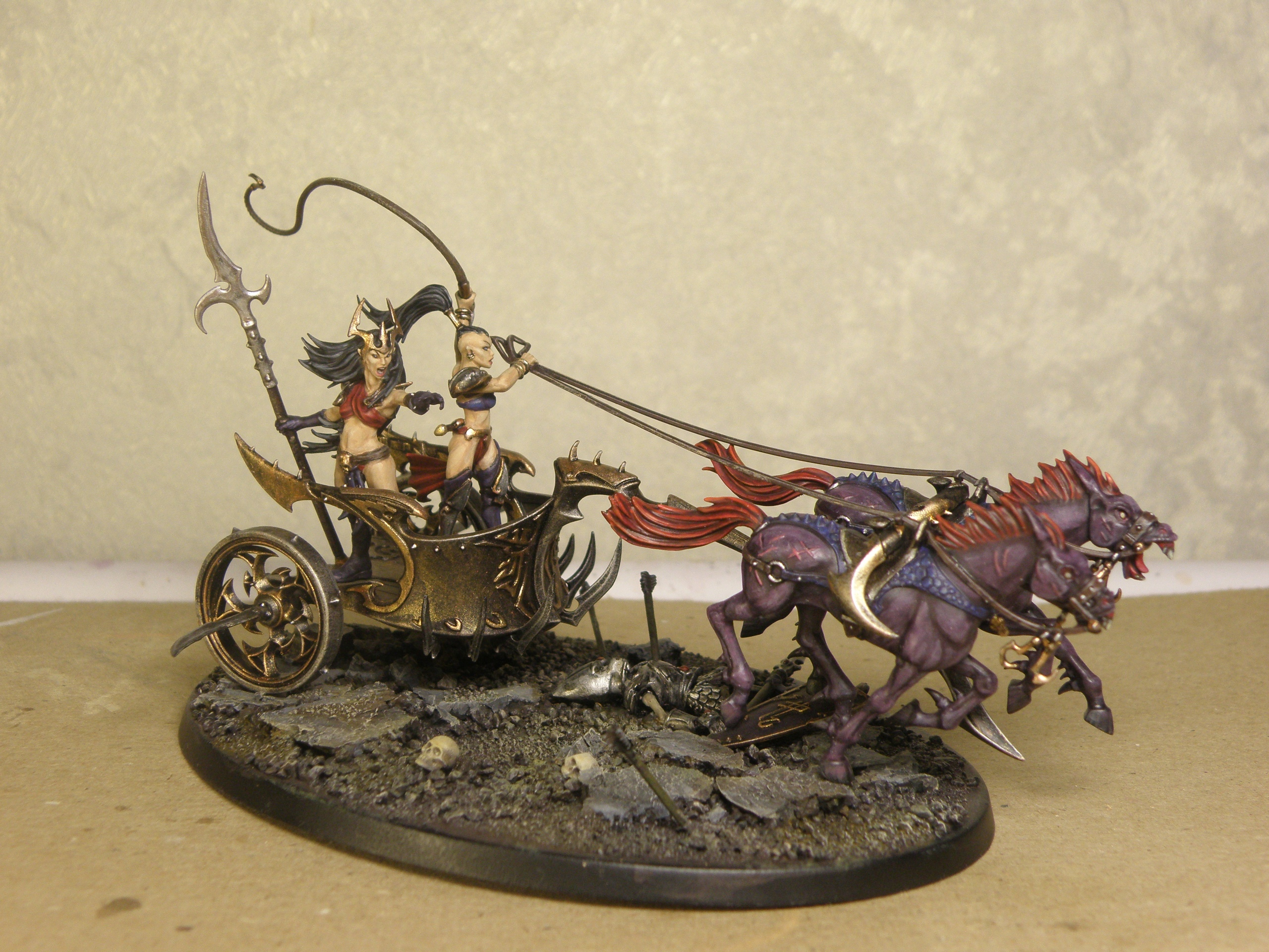 witch elves chariot