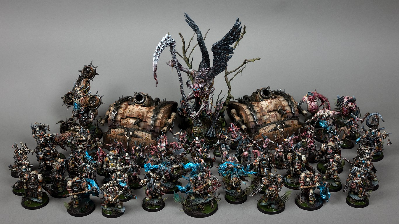 Death Guard Army - The Effluvient Host