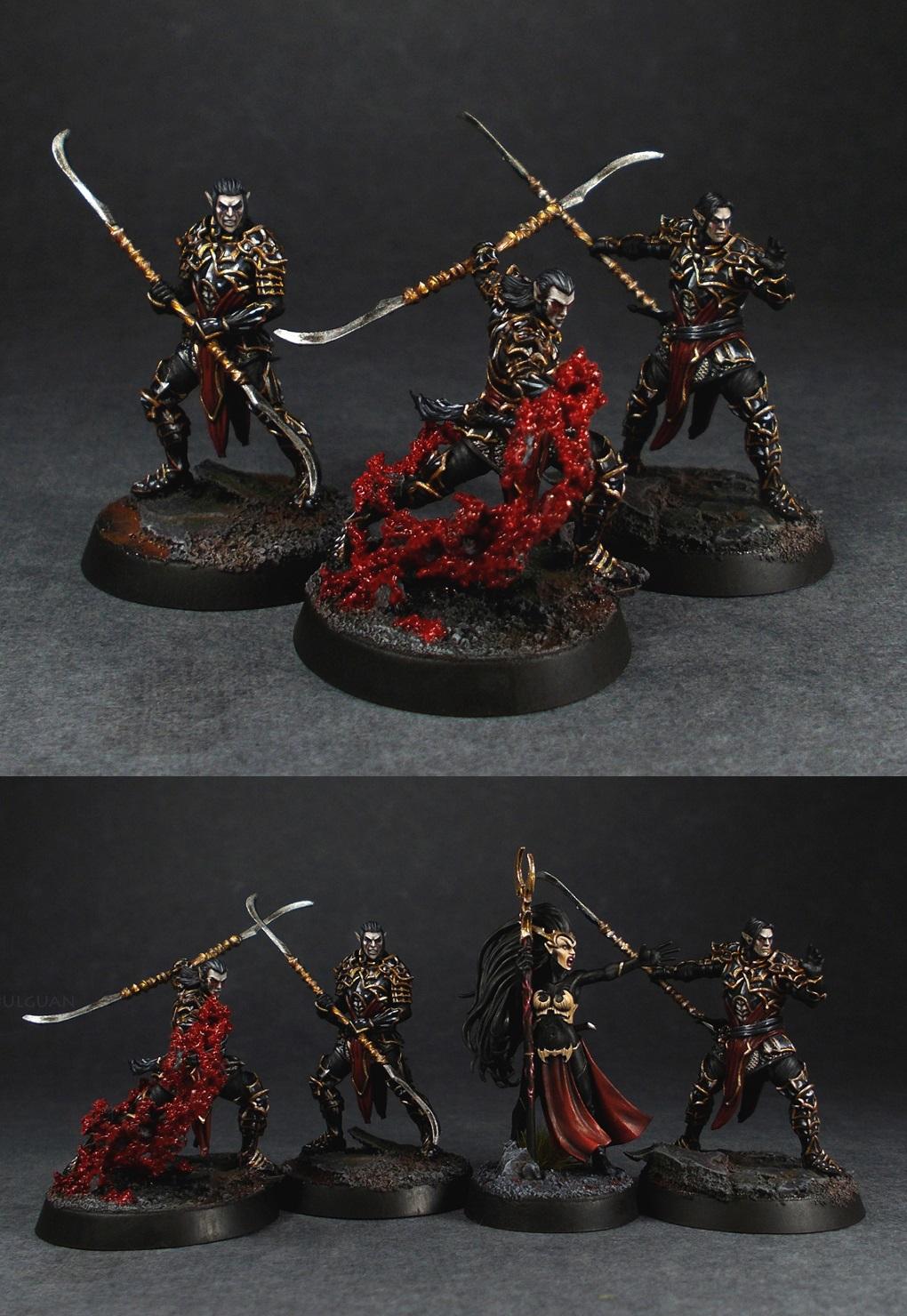 Archvillain games Dark elves drow set