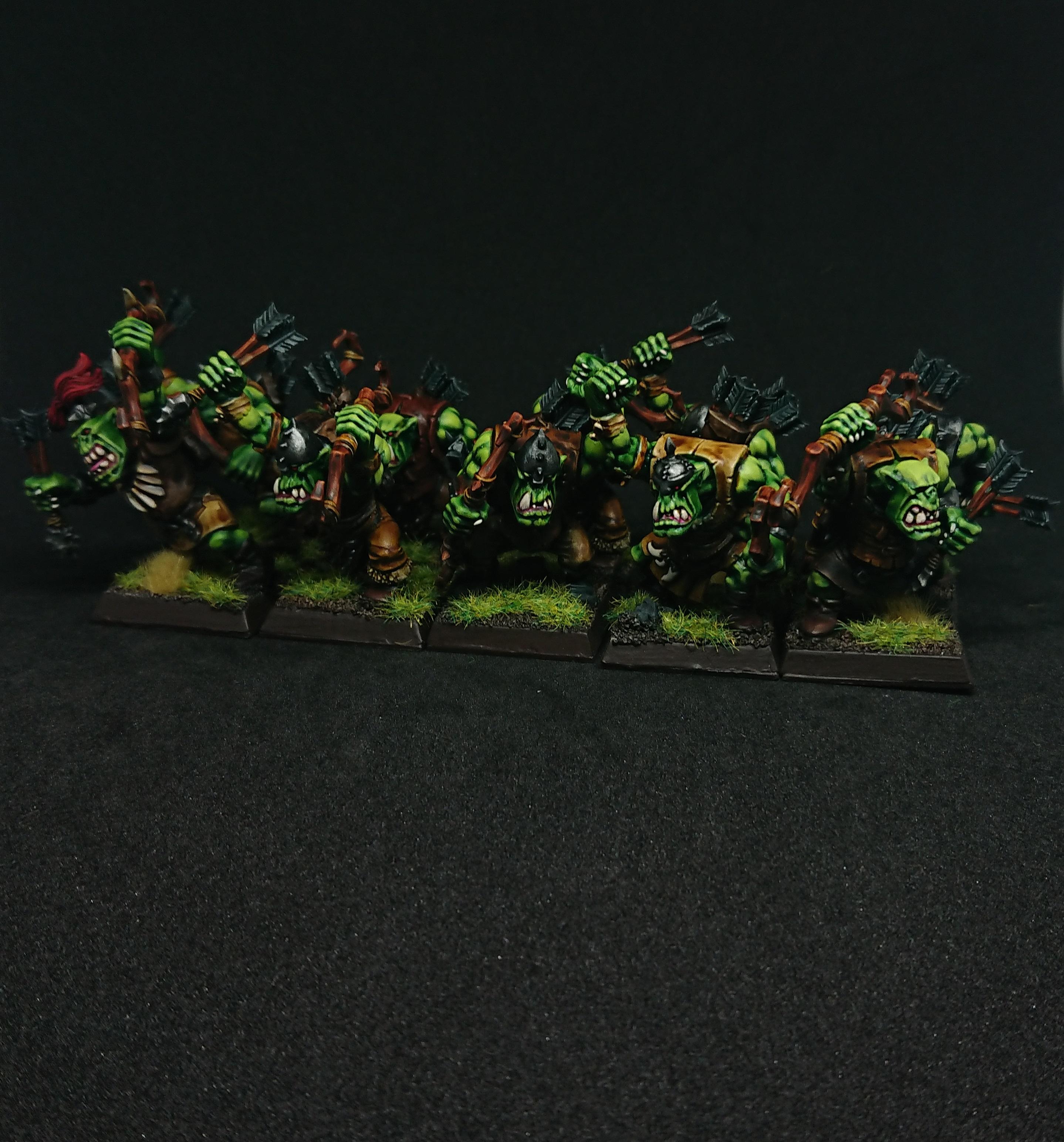 Warhammer Fantasy Orks - Ork Arrow Boys