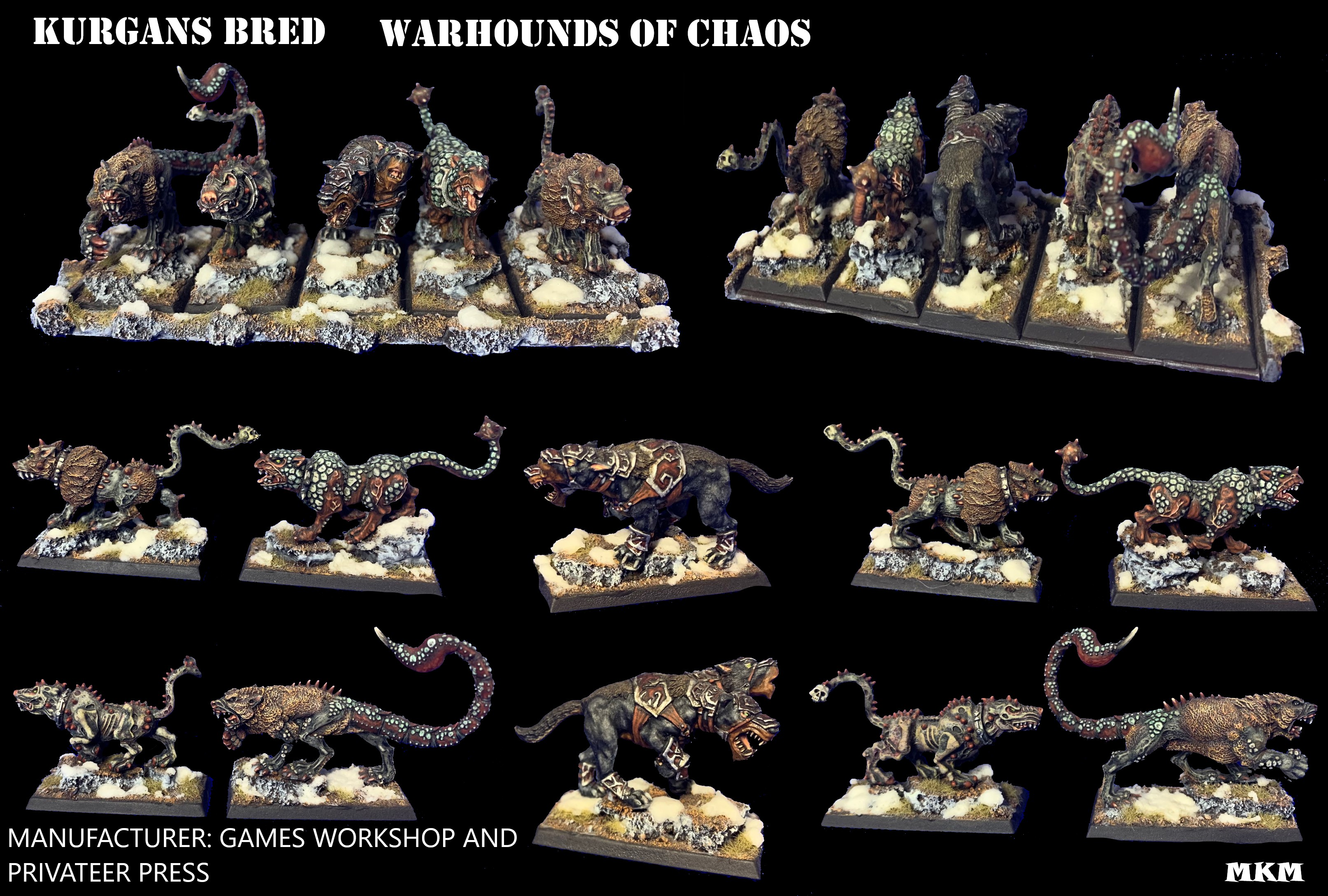 KURGANS BRED, Warhounds of Chaos
