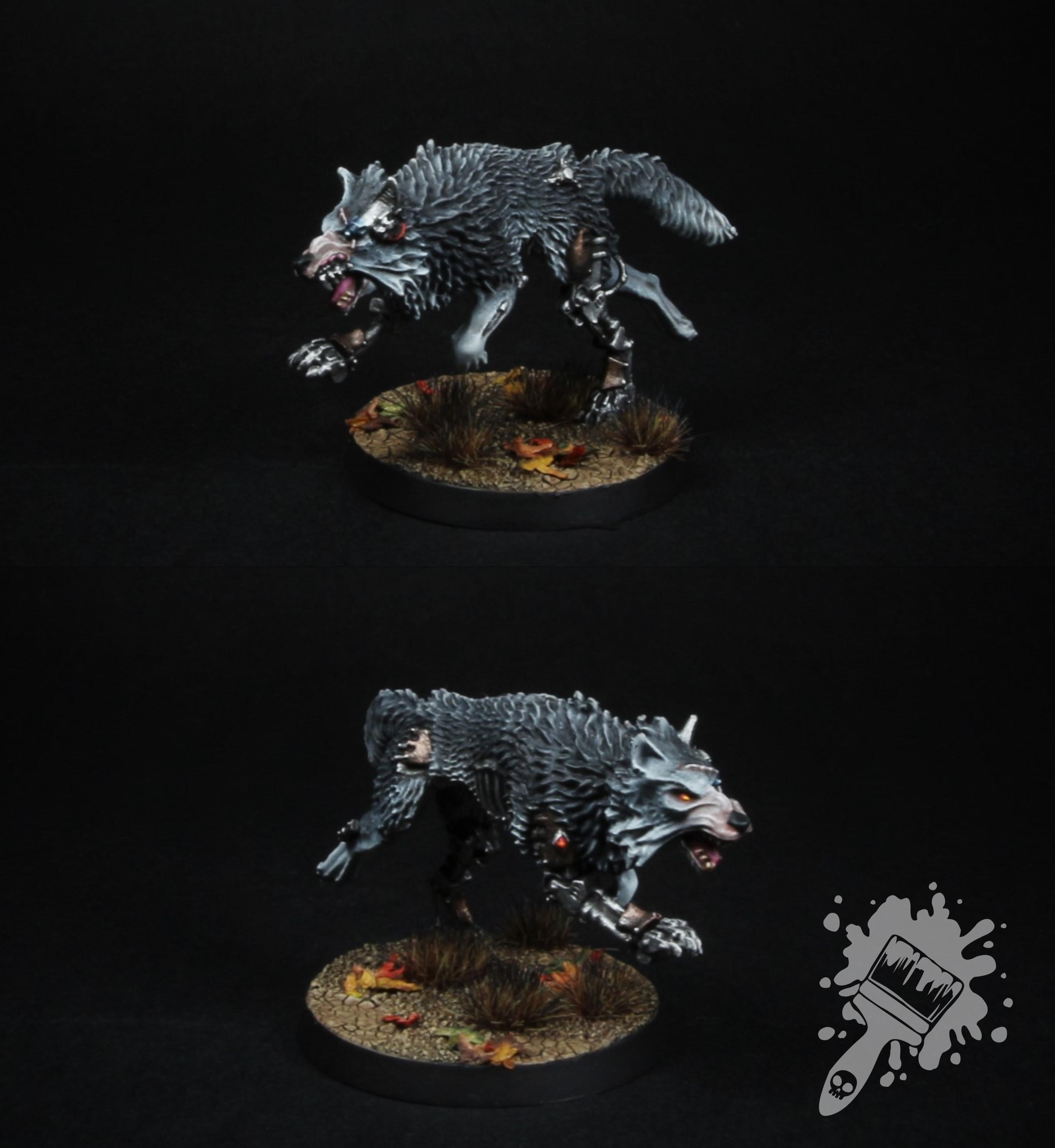 Warhammer 40k Space Wolves Cyberwolf