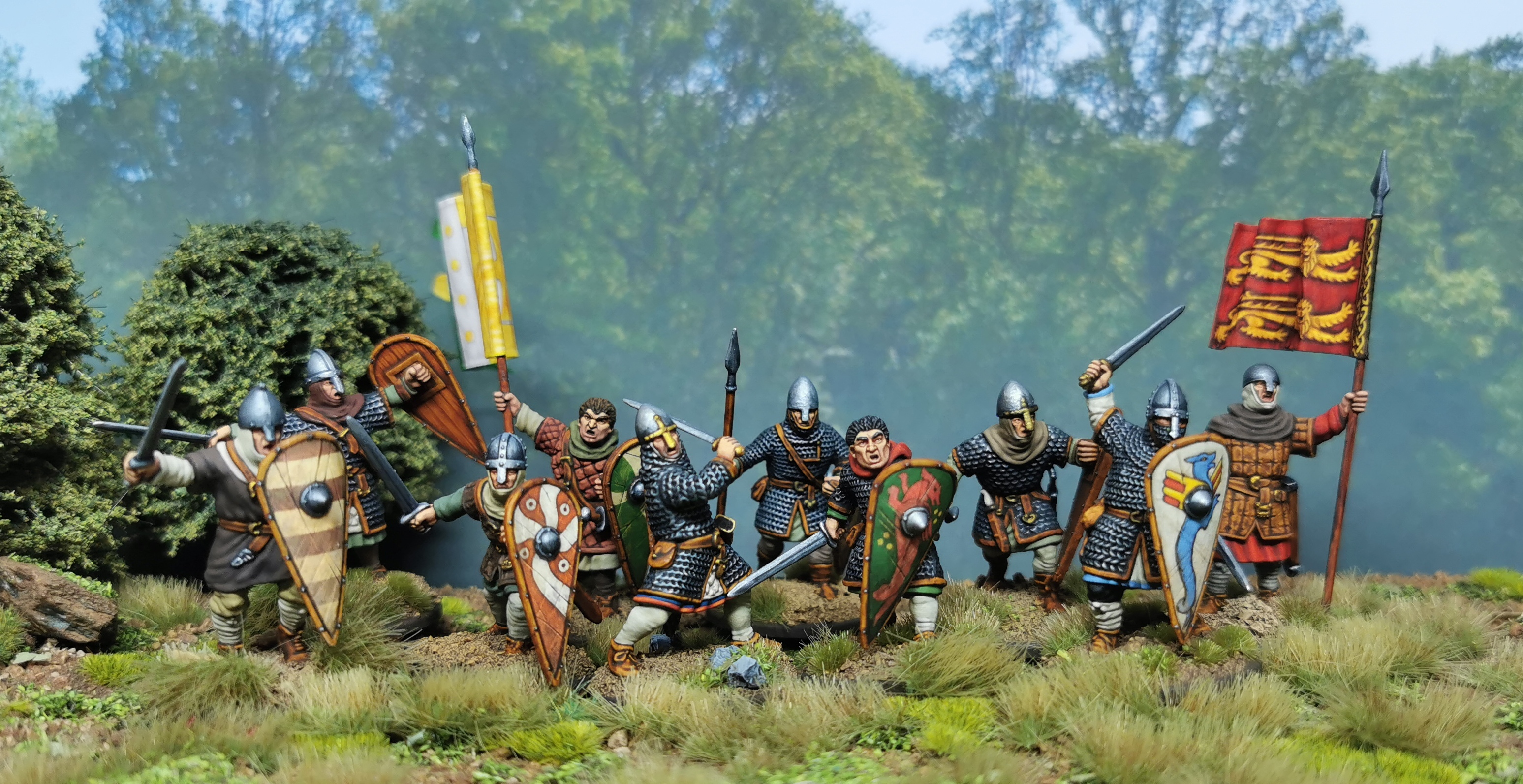 Victrix Norman infantry